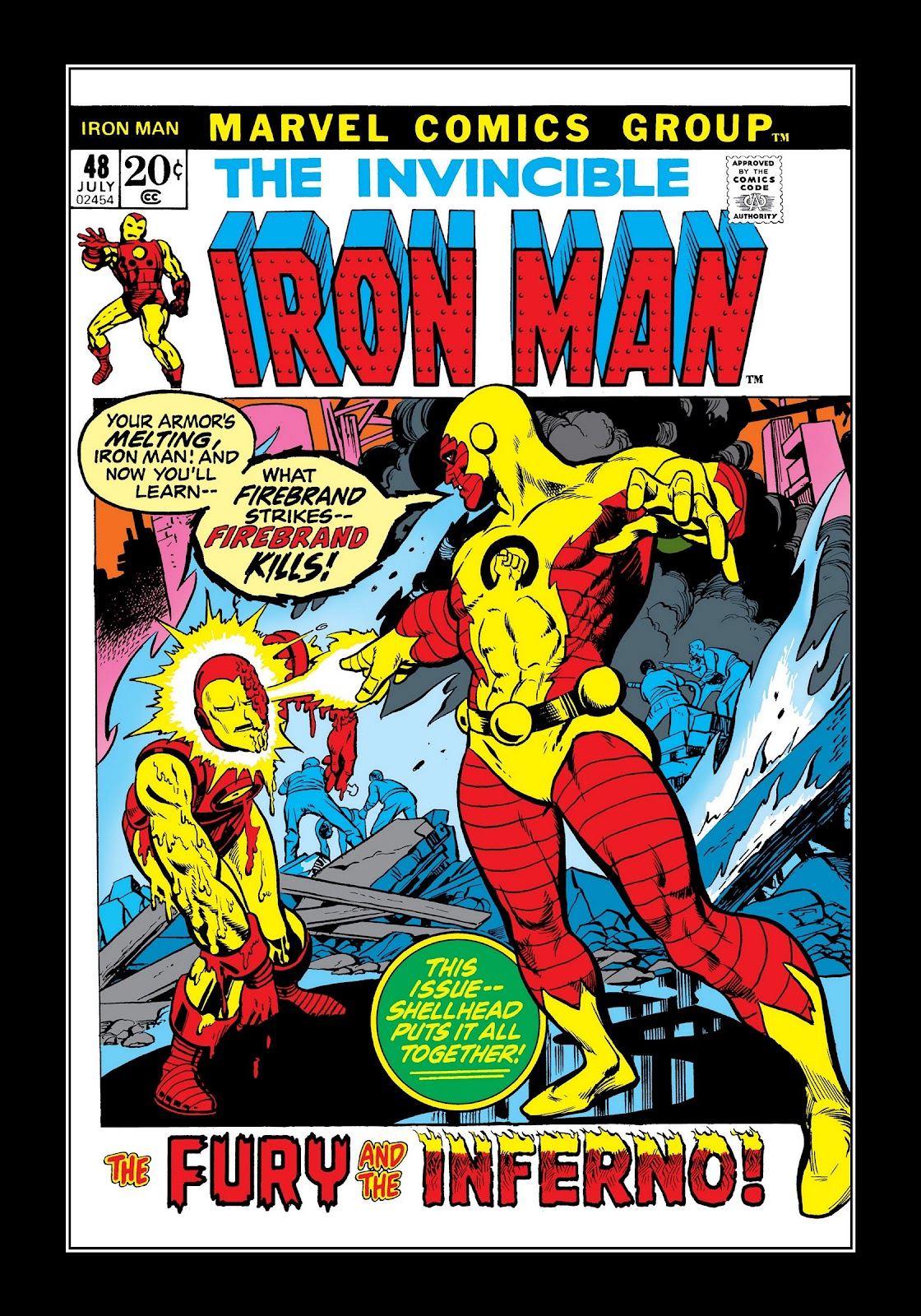 Read online Marvel Masterworks: The Invincible Iron Man comic -  Issue # TPB 8 (Part 2) - 88