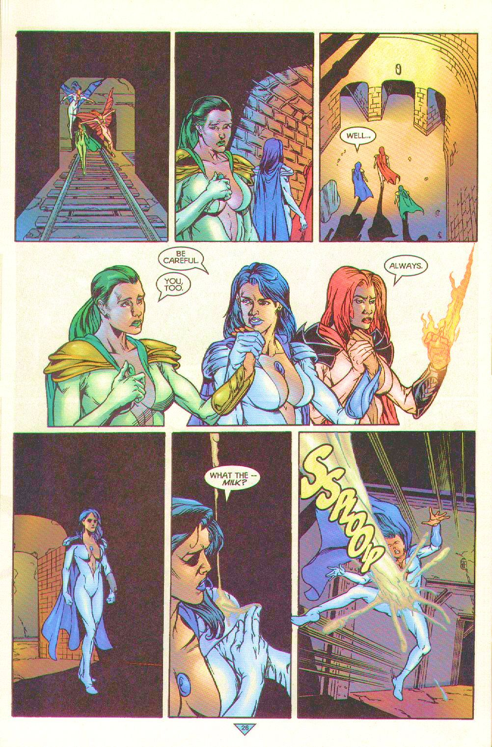 Read online Trinity Angels comic -  Issue #10 - 22