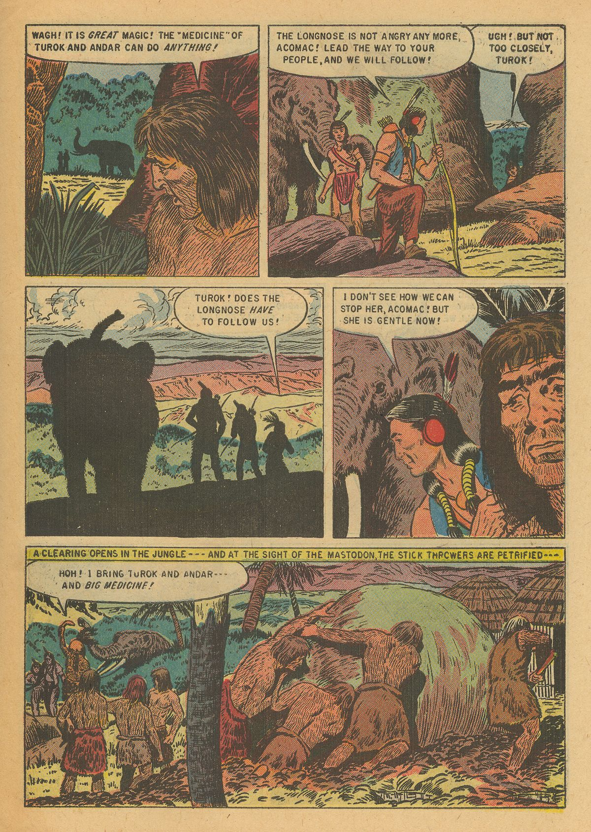 Read online Turok, Son of Stone comic -  Issue #6 - 27