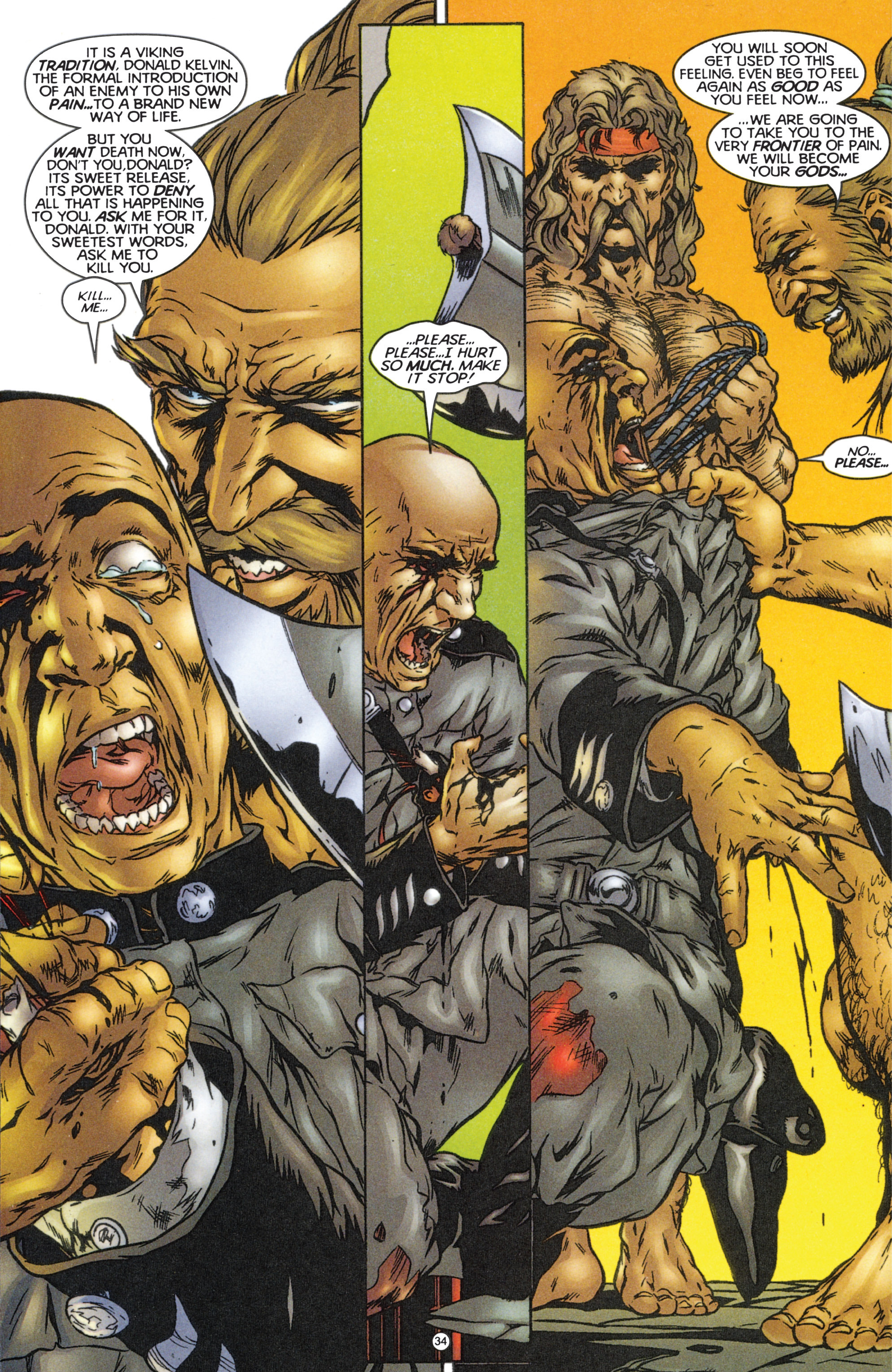 Read online Eternal Warriors comic -  Issue # Issue The Immortal Enemy - 31