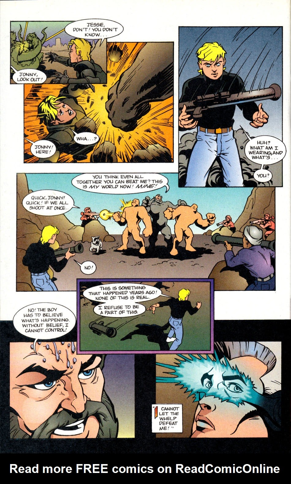 Read online The Real Adventures of Jonny Quest comic -  Issue #5 - 20
