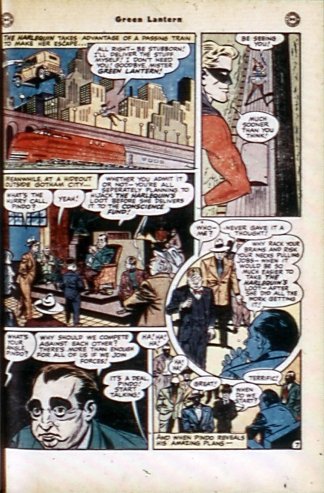 Green Lantern (1941) Issue #32 #32 - English 23