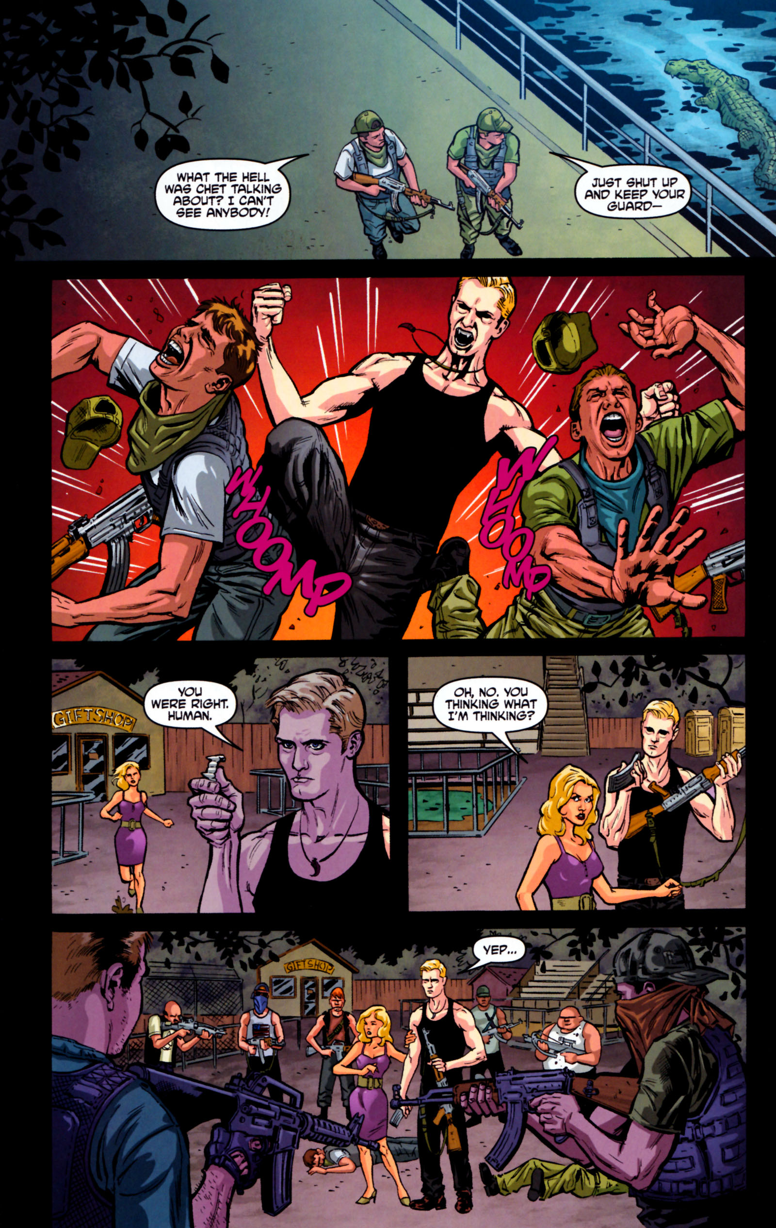 Read online True Blood: Tainted Love comic -  Issue #5 - 24