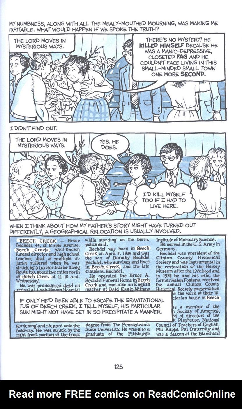 Read online Fun Home: A Family Tragicomic comic -  Issue # TPB - 131