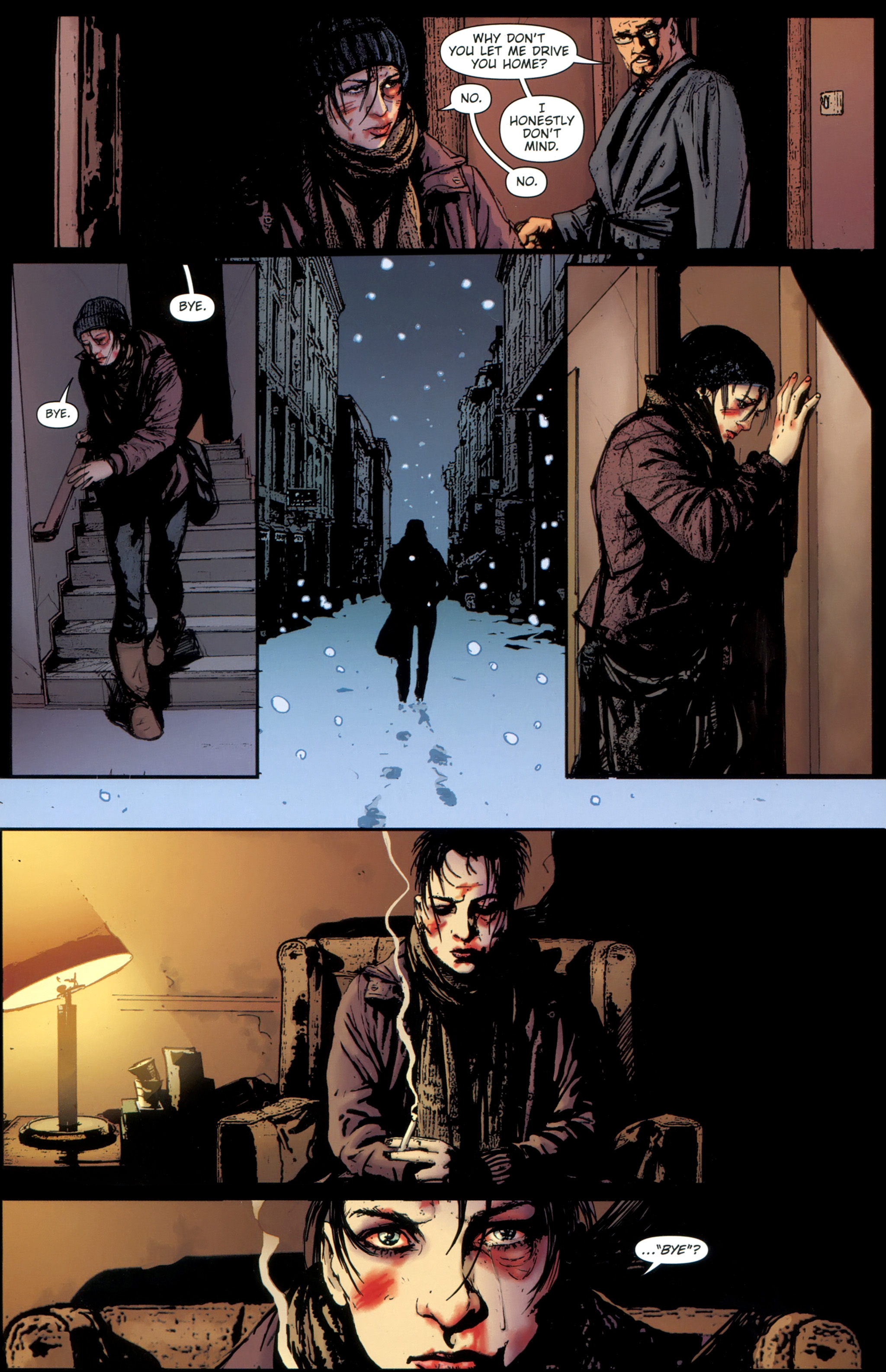Read online The Girl With the Dragon Tattoo comic -  Issue # TPB 1 - 124