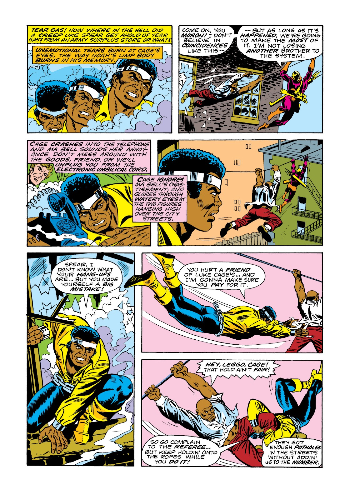 Read online Marvel Masterworks: Luke Cage, Power Man comic -  Issue # TPB 3 (Part 1) - 68