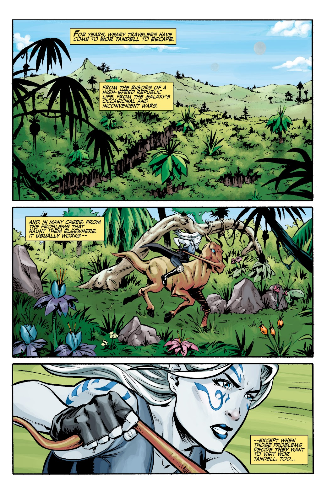 Read online Star Wars Legends: The Old Republic - Epic Collection comic -  Issue # TPB 3 (Part 1) - 100