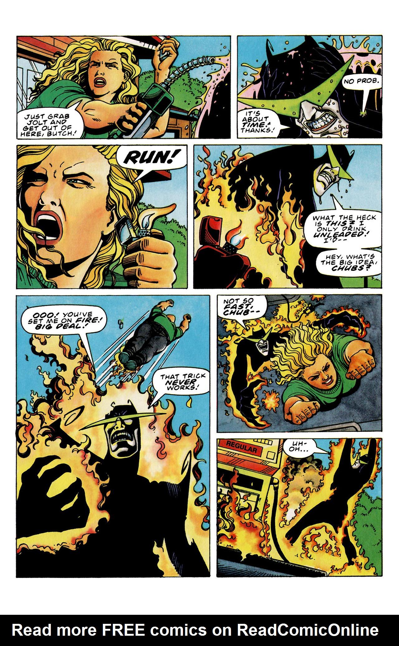 Read online Harbinger (1992) comic -  Issue #33 - 17