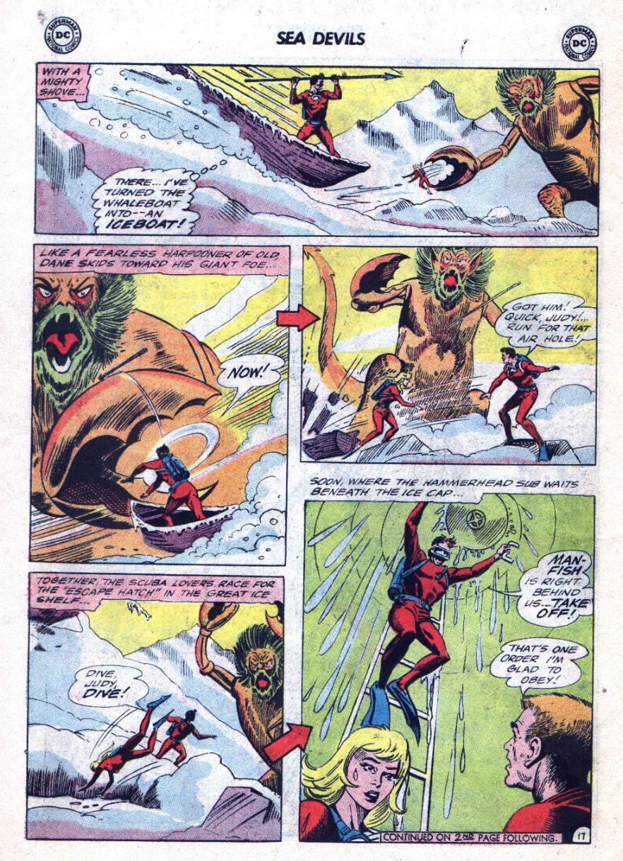 Read online Sea Devils comic -  Issue #24 - 23