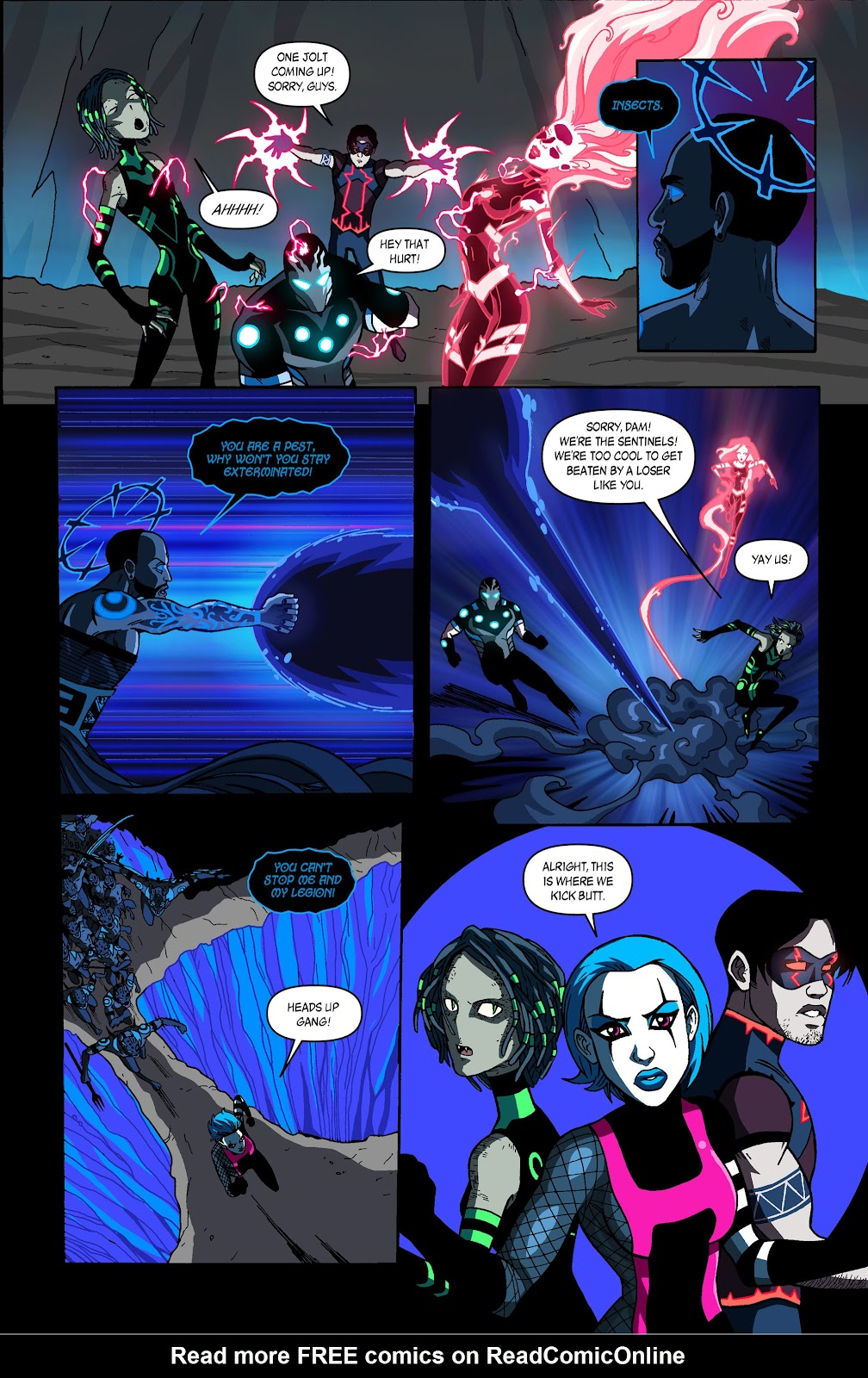 Sentinels issue 3 - Page 10
