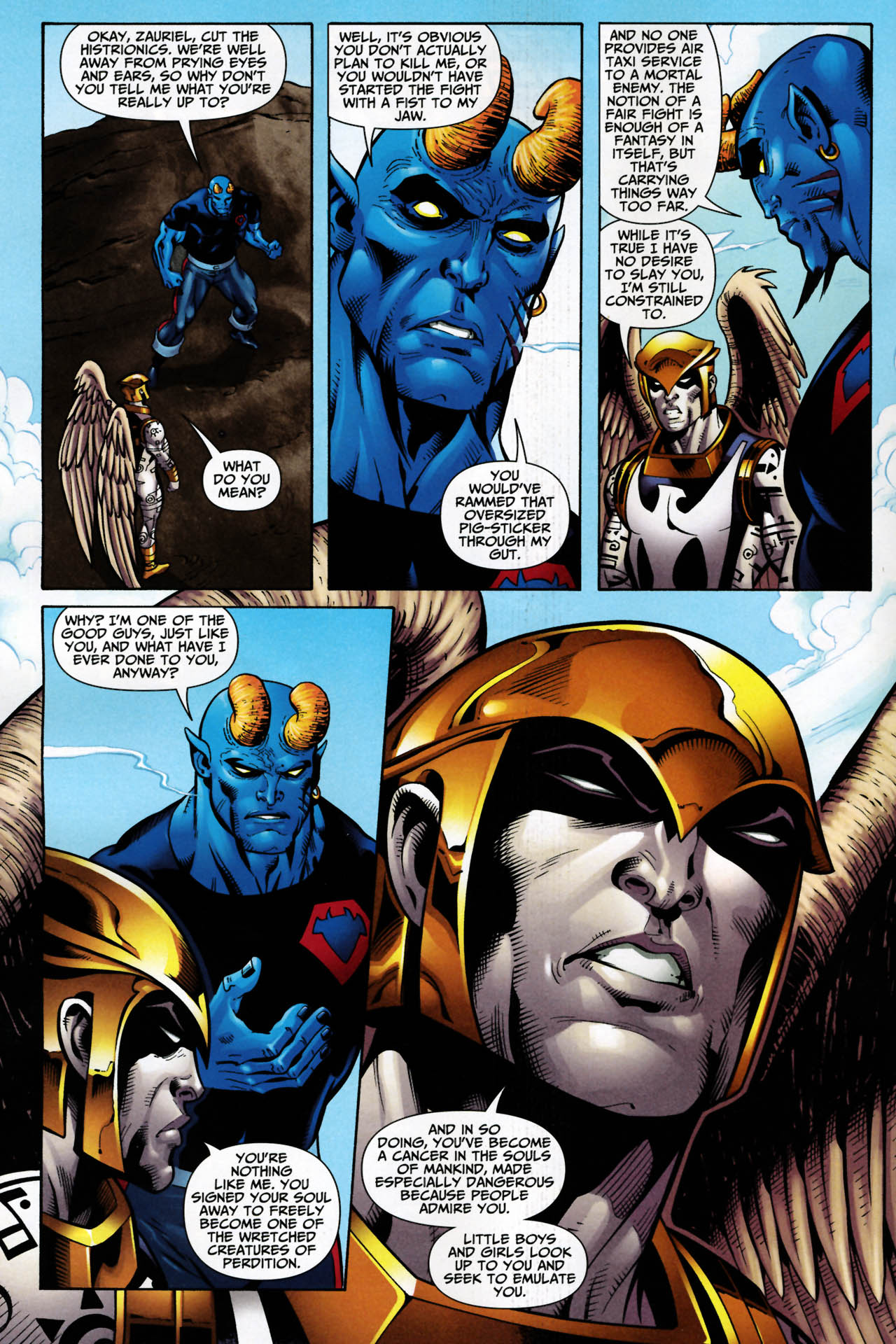 Read online Shadowpact comic -  Issue #14 - 7