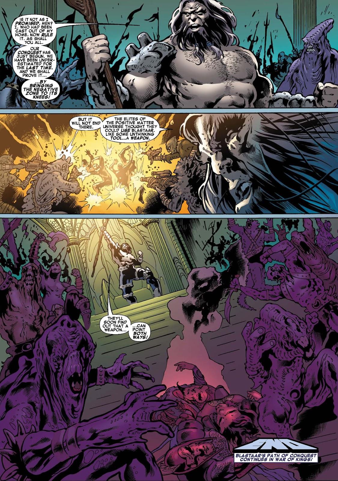 War of Kings: Warriors - Blastaar Issue #2 #2 - English 9