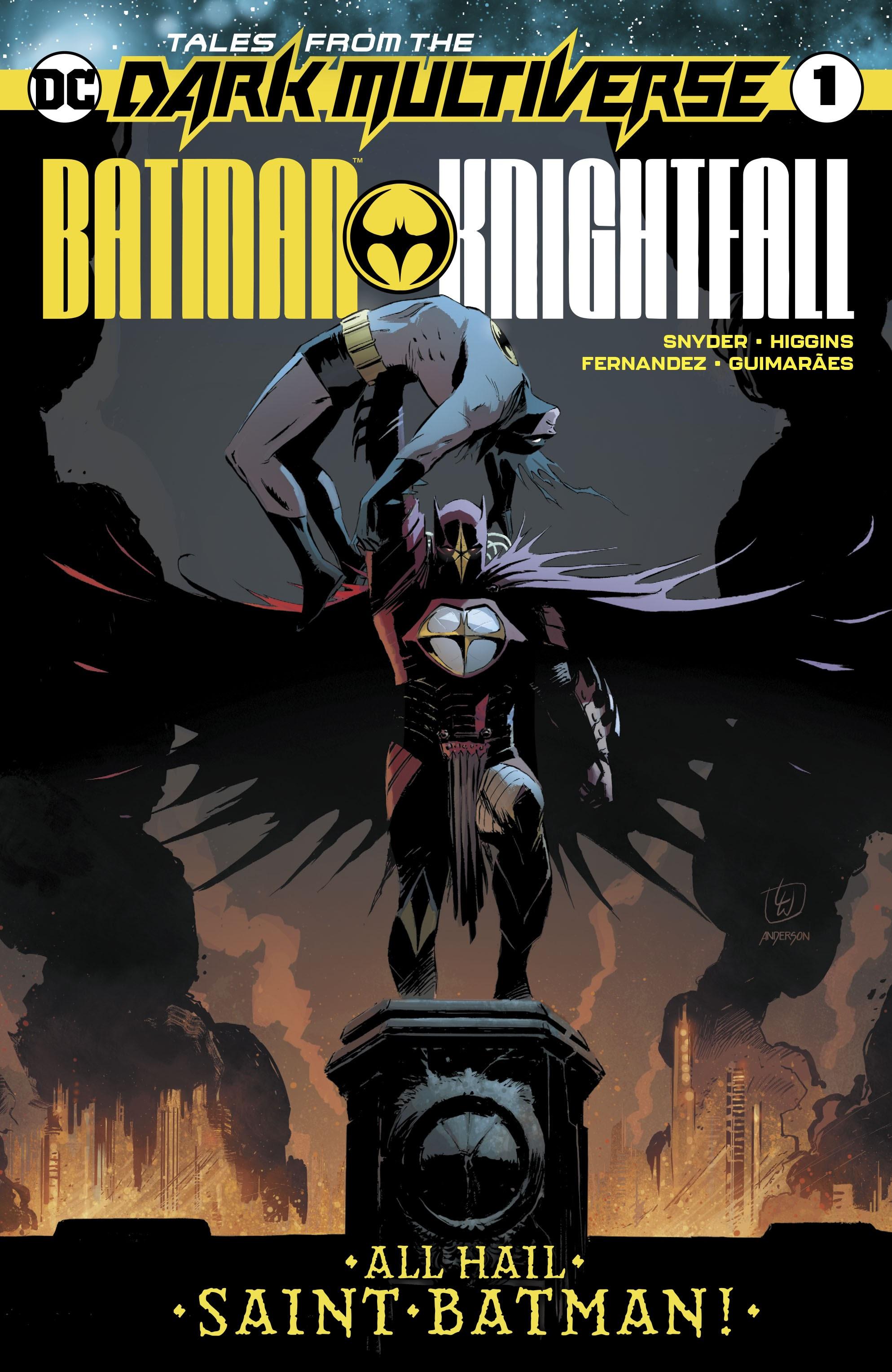 Tales from the Dark Multiverse: Batman Knightfall Full Page 1