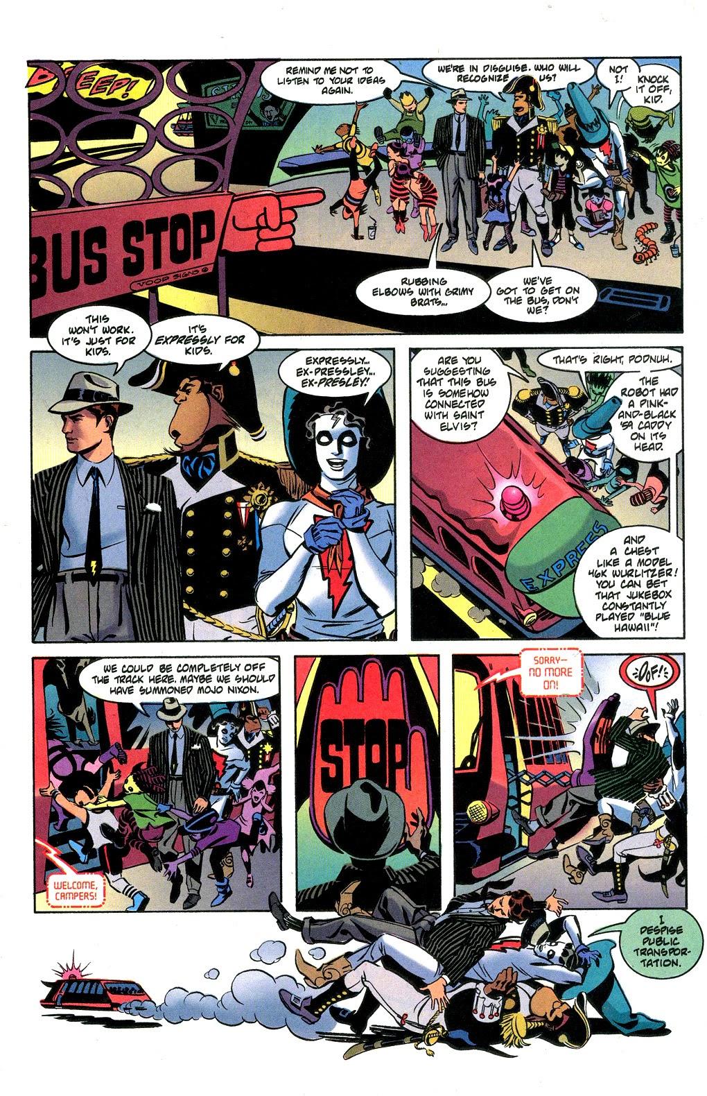 Read online Nexus Meets Madman comic -  Issue # Full - 11