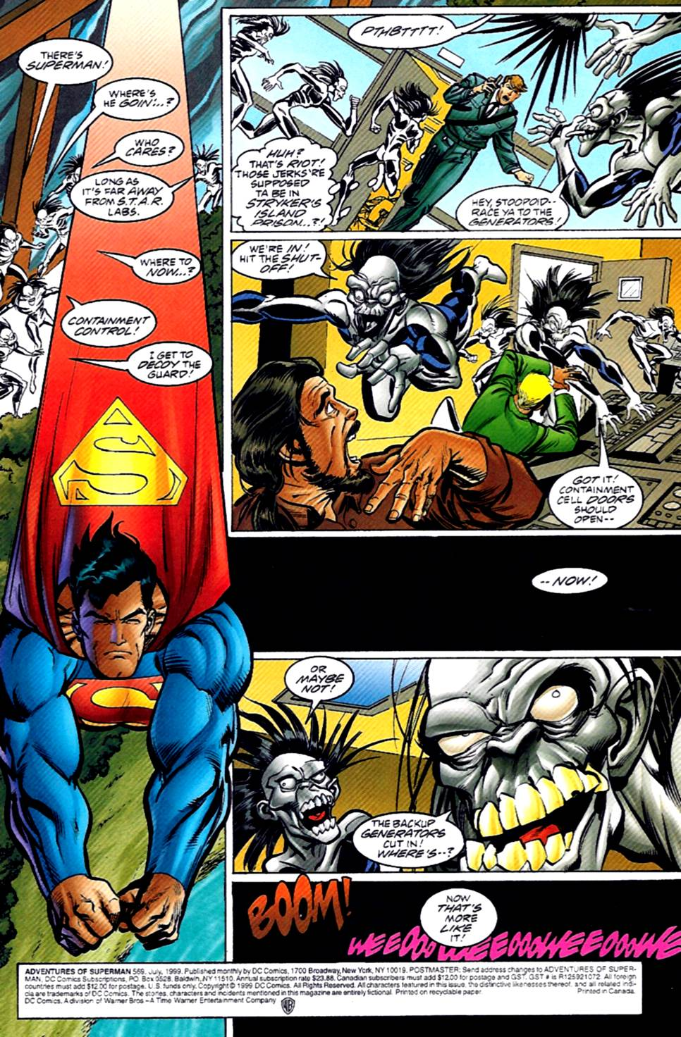 Read online Adventures of Superman (1987) comic -  Issue #569 - 2