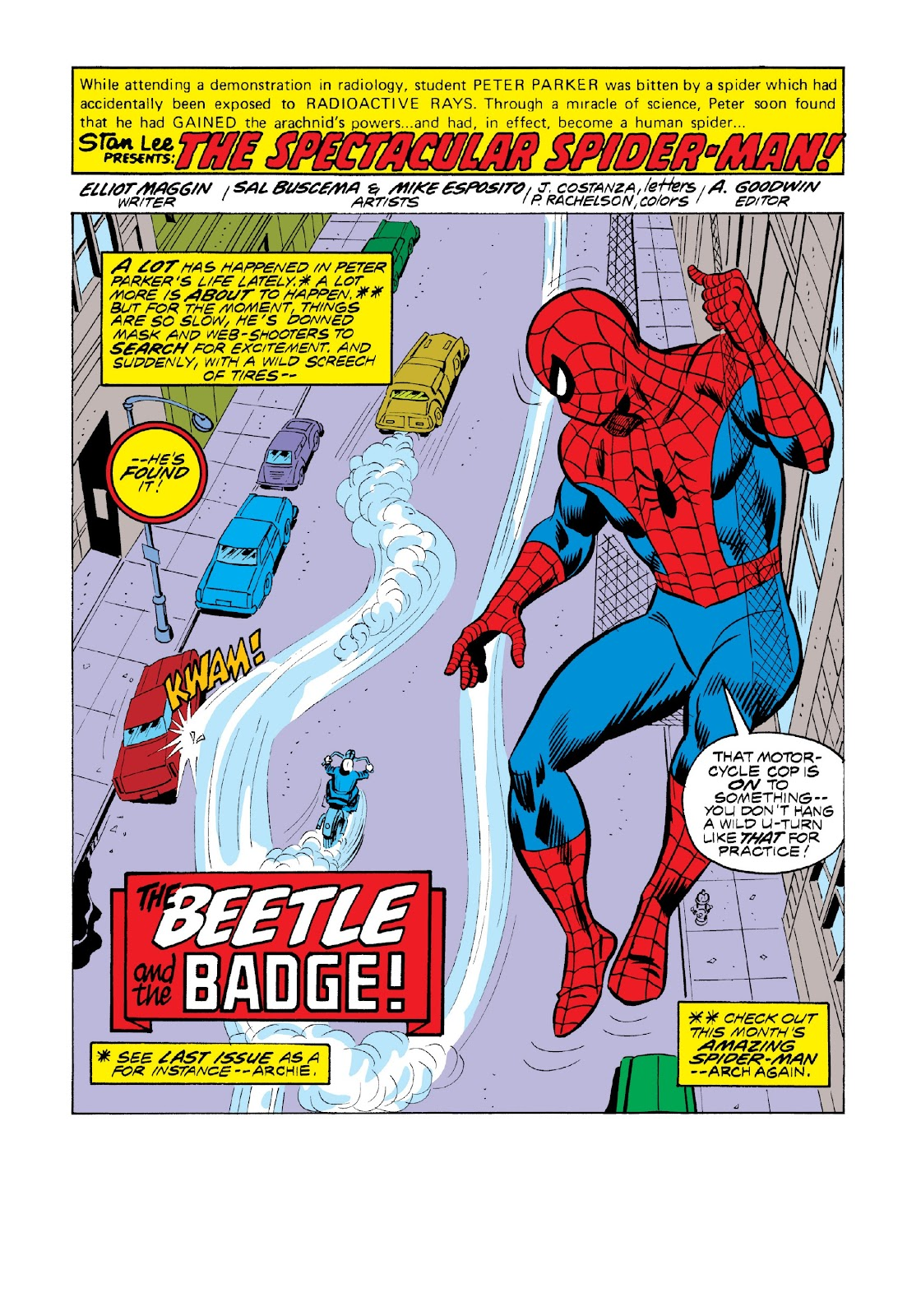 Read online Marvel Masterworks: The Spectacular Spider-Man comic -  Issue # TPB 2 (Part 1) - 10