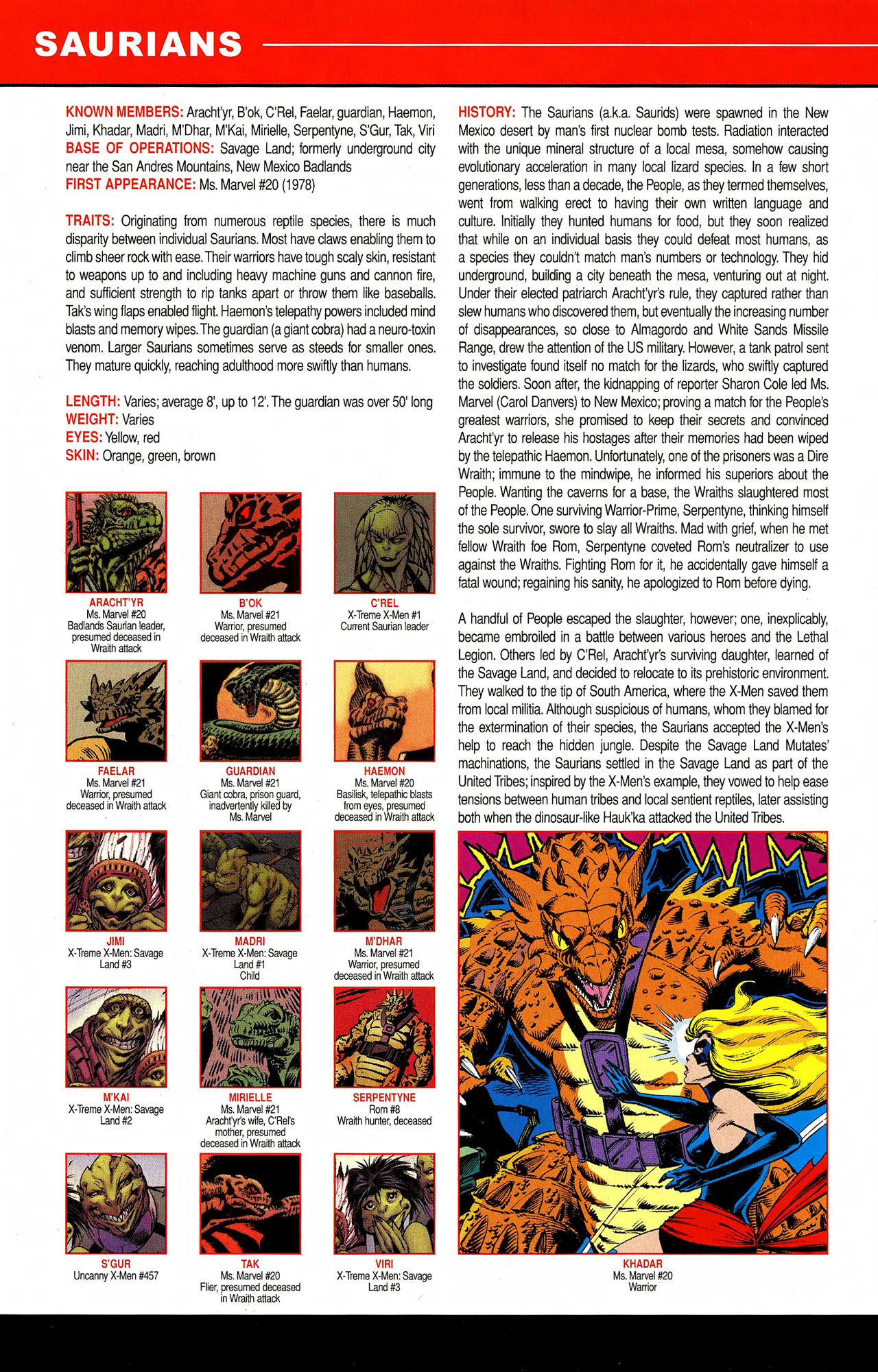 Read online All-New Official Handbook of the Marvel Universe A to Z comic -  Issue #9 - 46