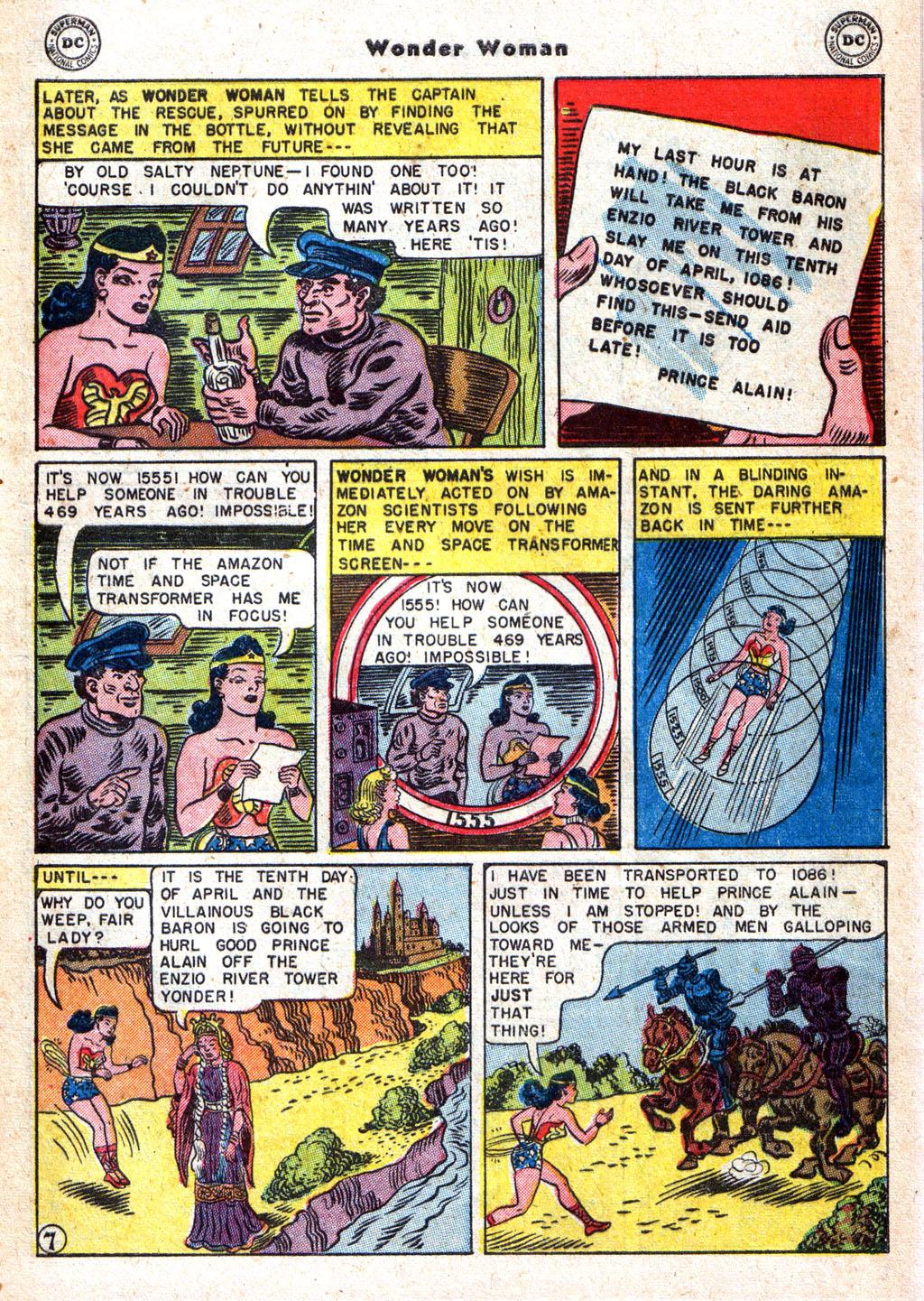 Read online Wonder Woman (1942) comic -  Issue #72 - 9