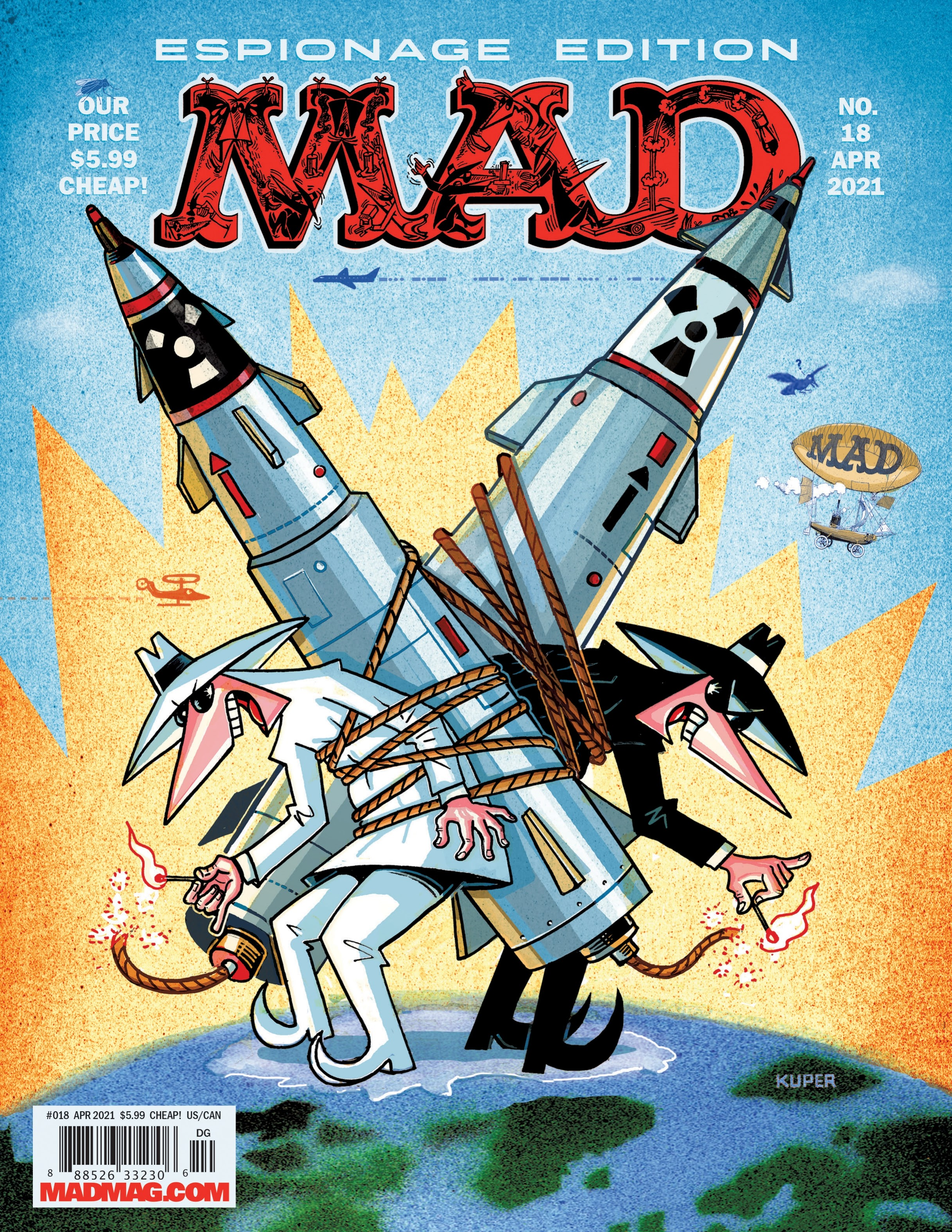 MAD Magazine issue 18 - Page 1