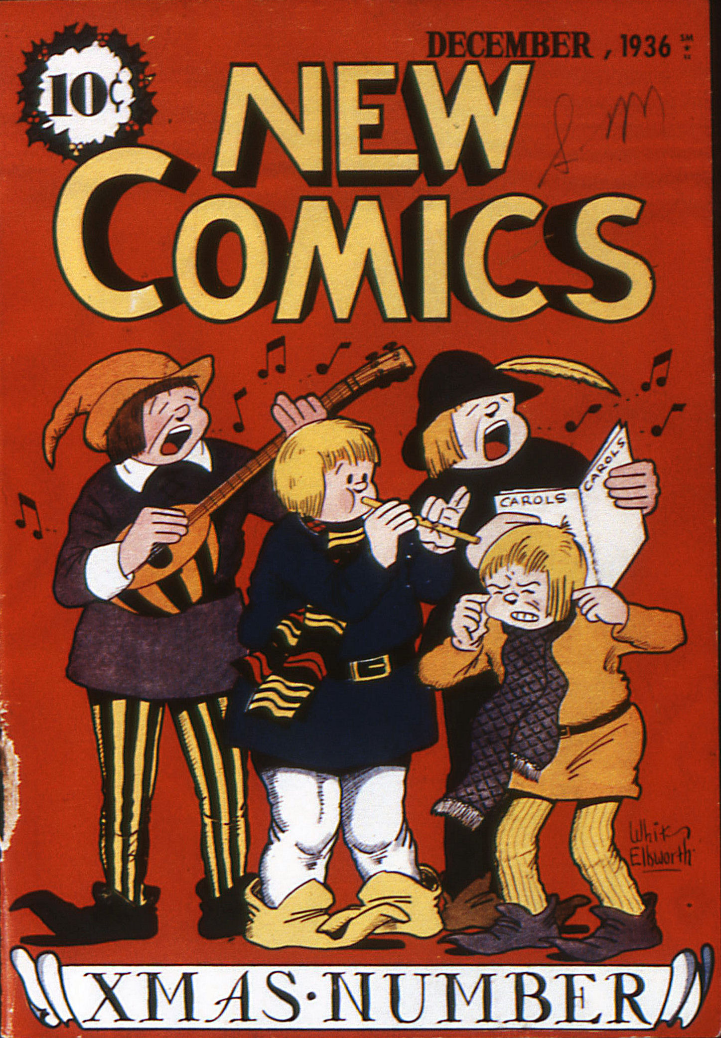 Read online Adventure Comics (1938) comic -  Issue #11 - 1