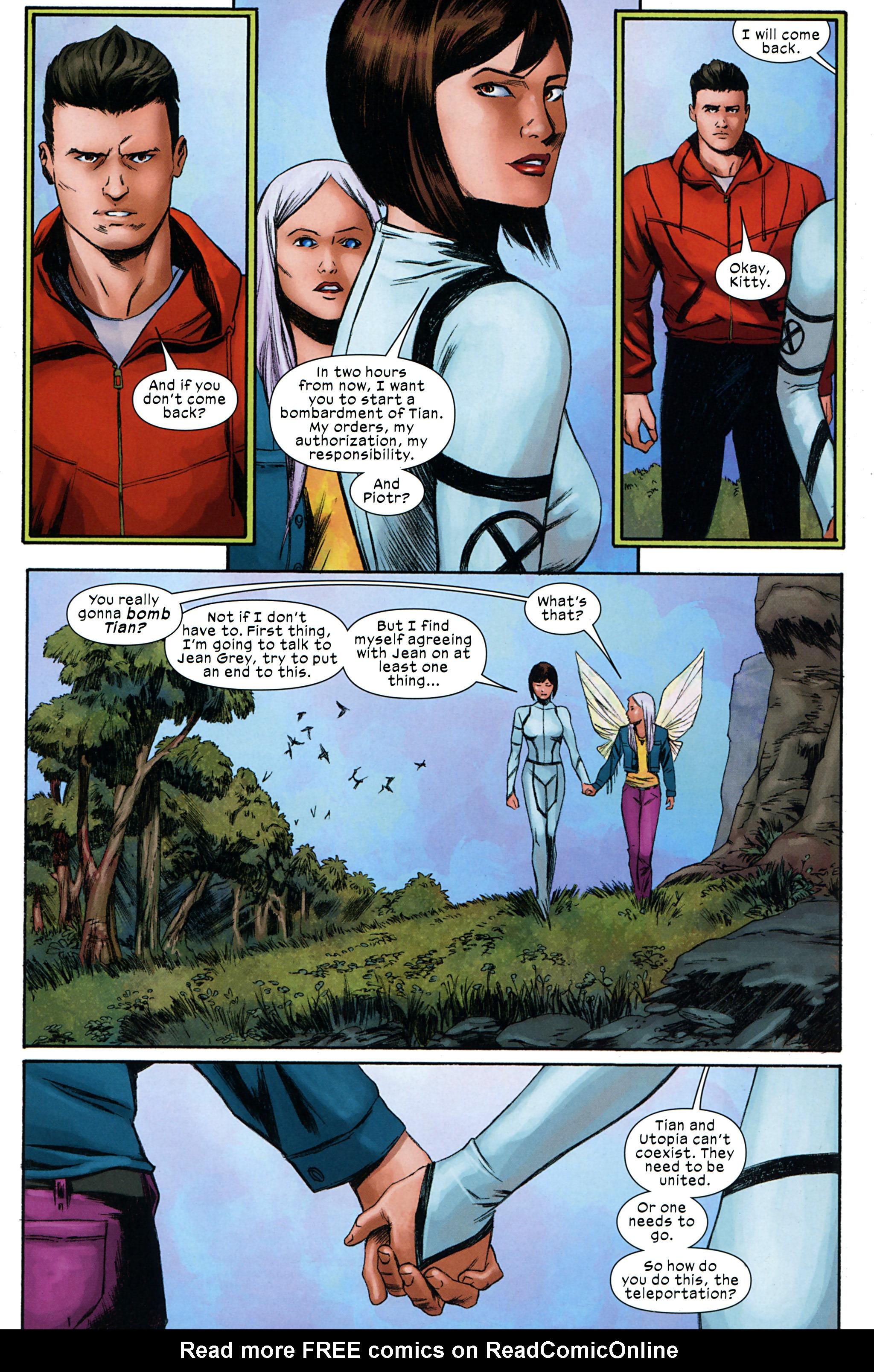 Read online Ultimate Comics X-Men comic -  Issue #32 - 19