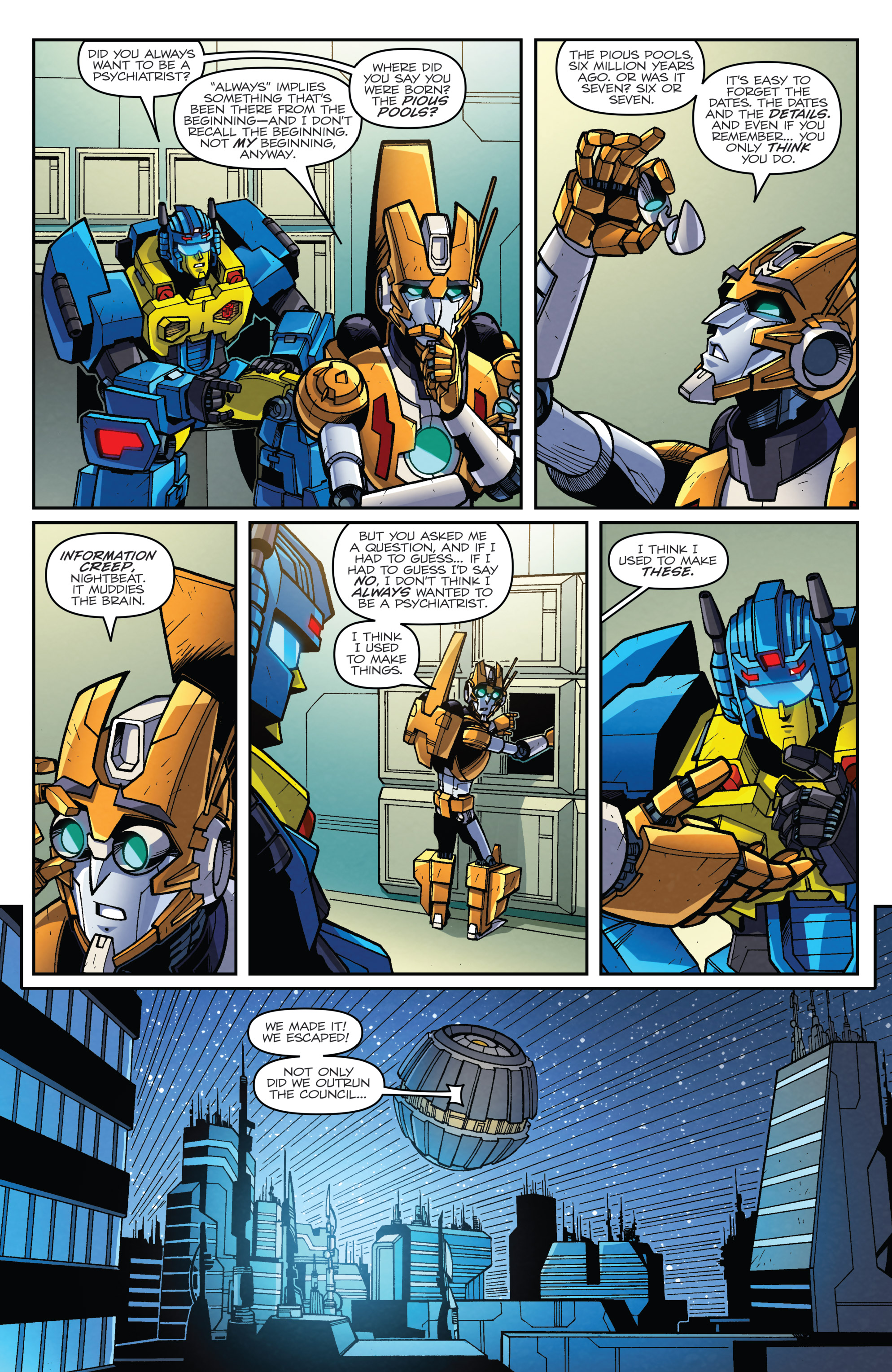 Read online Transformers: Lost Light comic -  Issue #5 - 12