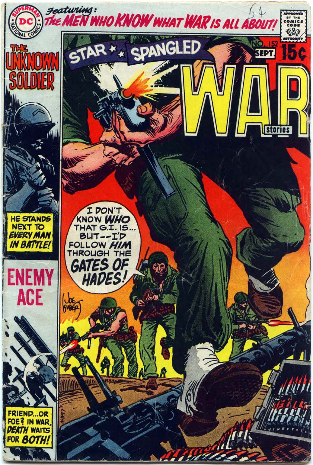 Star Spangled War Stories (1952) issue 152 - Page 1