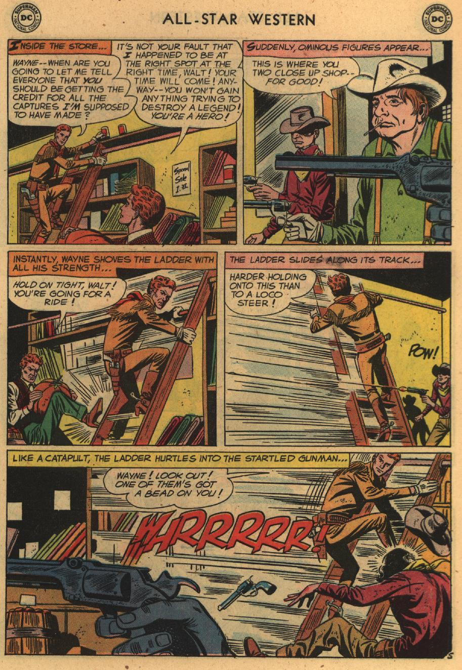 Read online All-Star Western (1951) comic -  Issue #100 - 7
