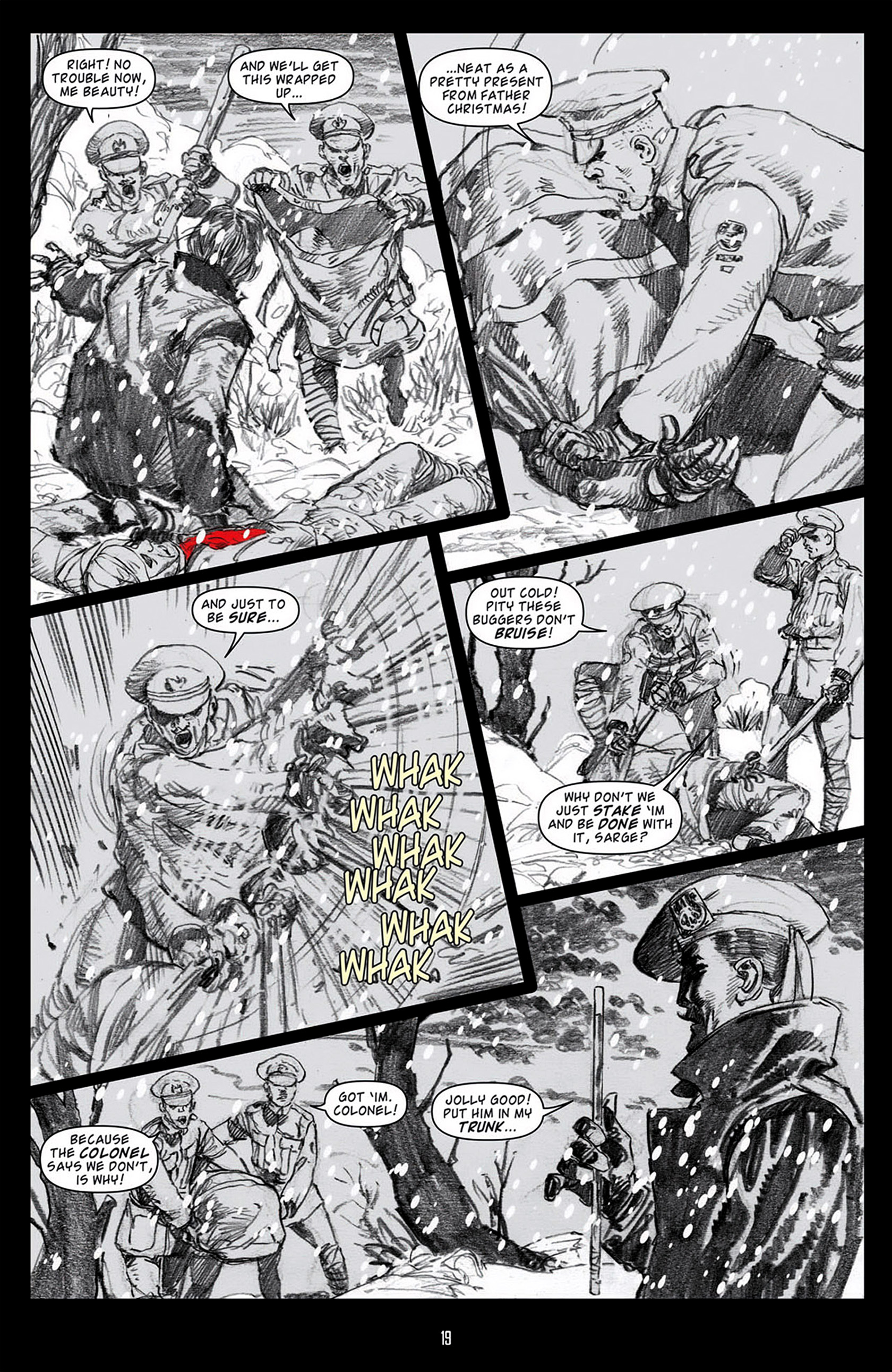 Read online Angel: Blood & Trenches comic -  Issue #1 - 22