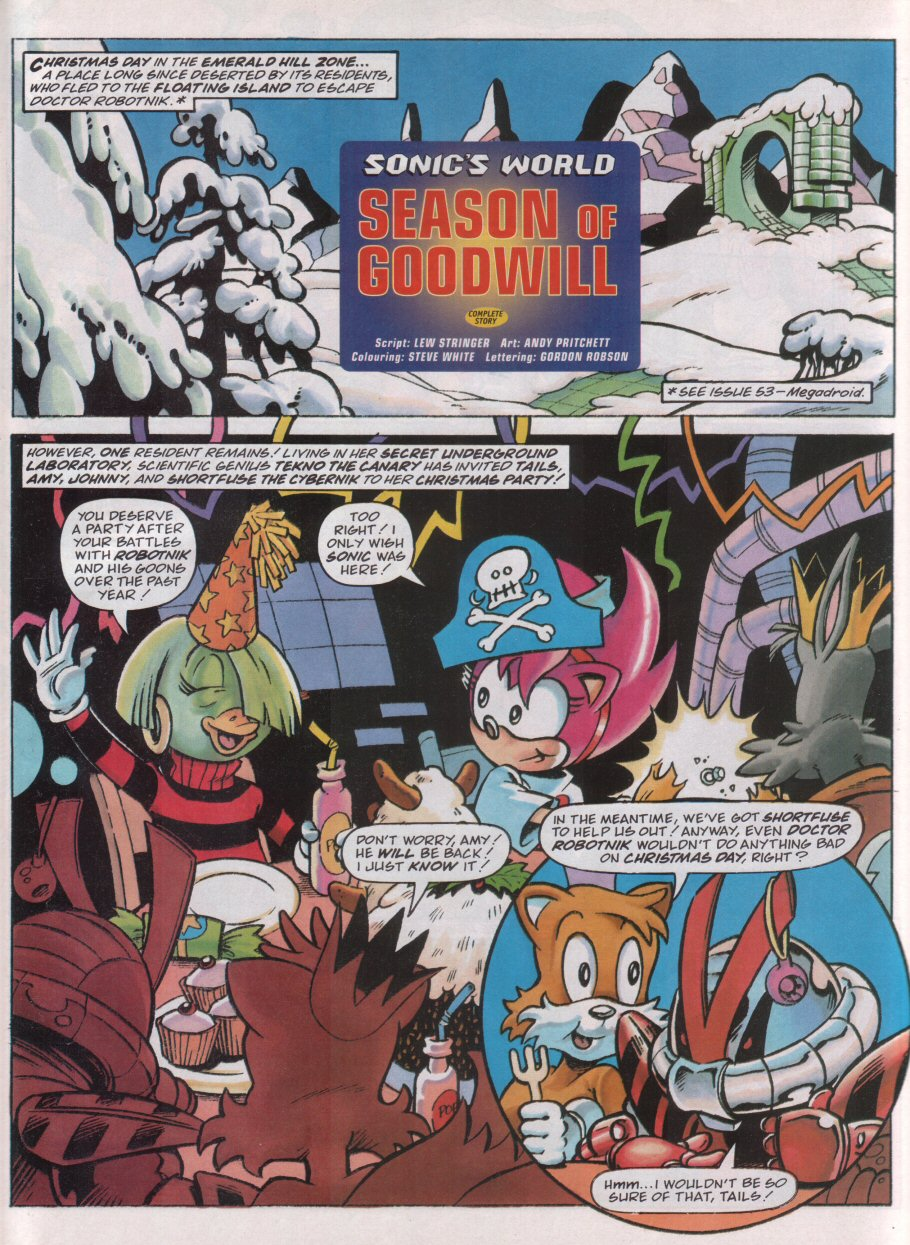 Read online Sonic the Comic comic -  Issue #93 - 25