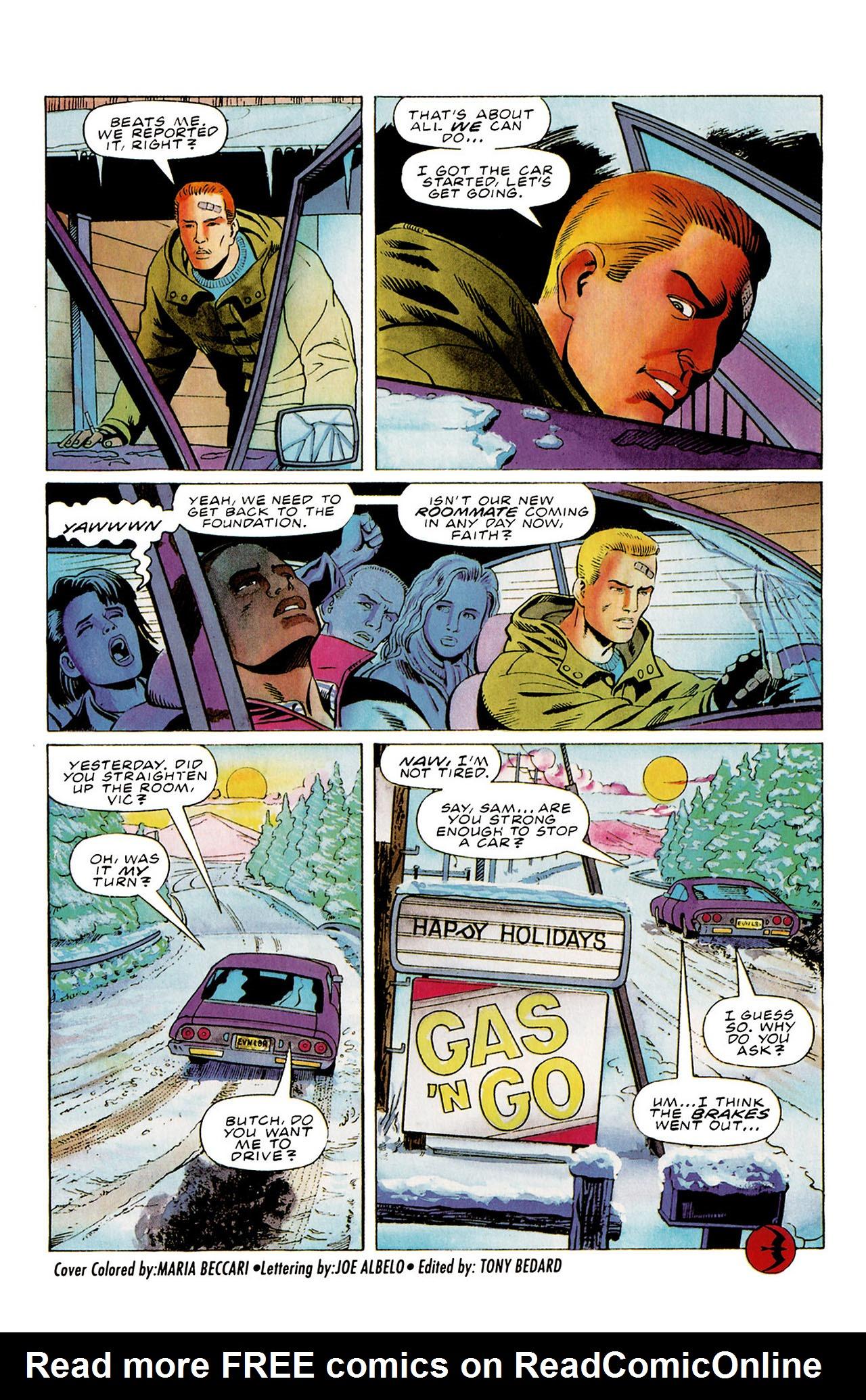 Read online Harbinger (1992) comic -  Issue #27 - 22