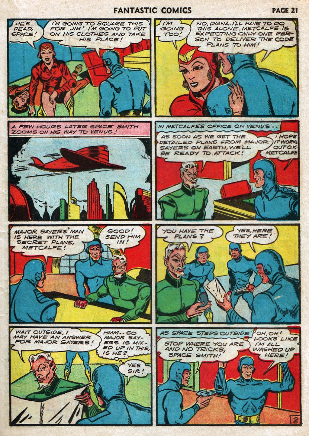Read online Fantastic Comics comic -  Issue #17 - 23
