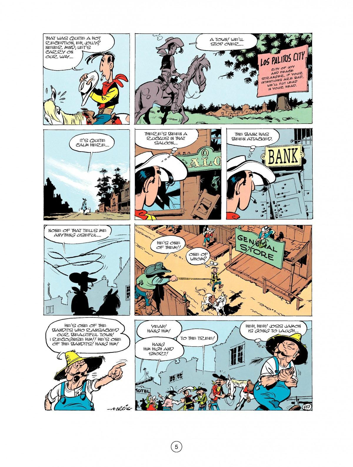 Read online A Lucky Luke Adventure comic -  Issue #27 - 6