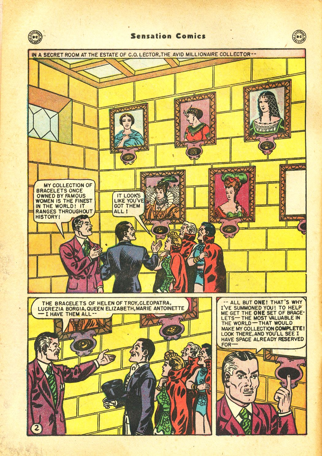 Read online Sensation (Mystery) Comics comic -  Issue #86 - 4