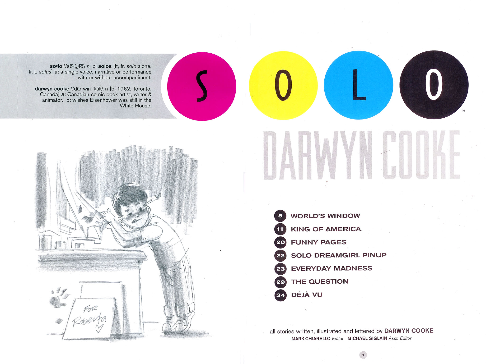 Read online Solo (2004) comic -  Issue #5 - 2