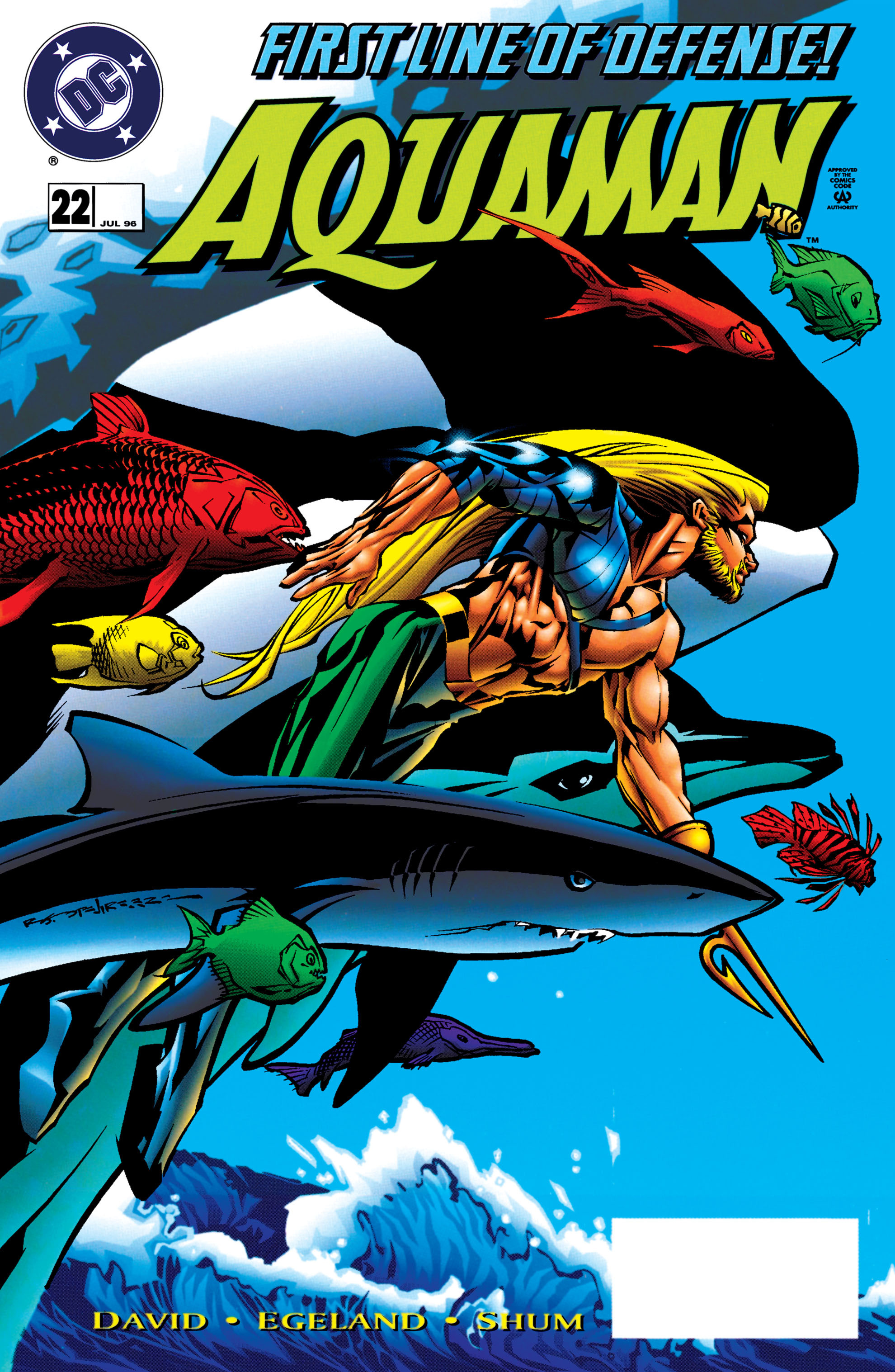 Read online Aquaman (1994) comic -  Issue #22 - 1