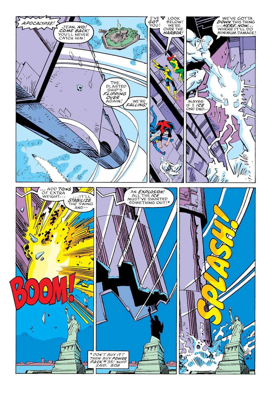 Read online X-Men Milestones: Fall of the Mutants comic -  Issue # TPB (Part 3) - 39