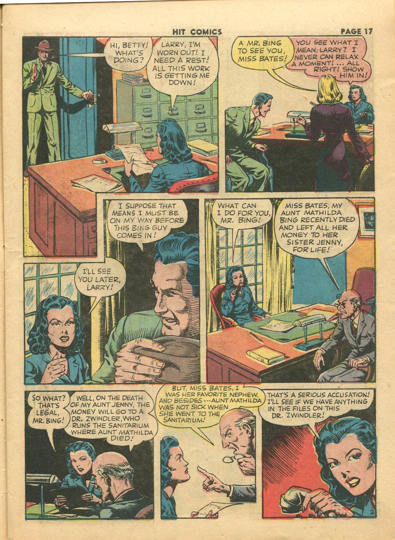 Read online Hit Comics comic -  Issue #28 - 20