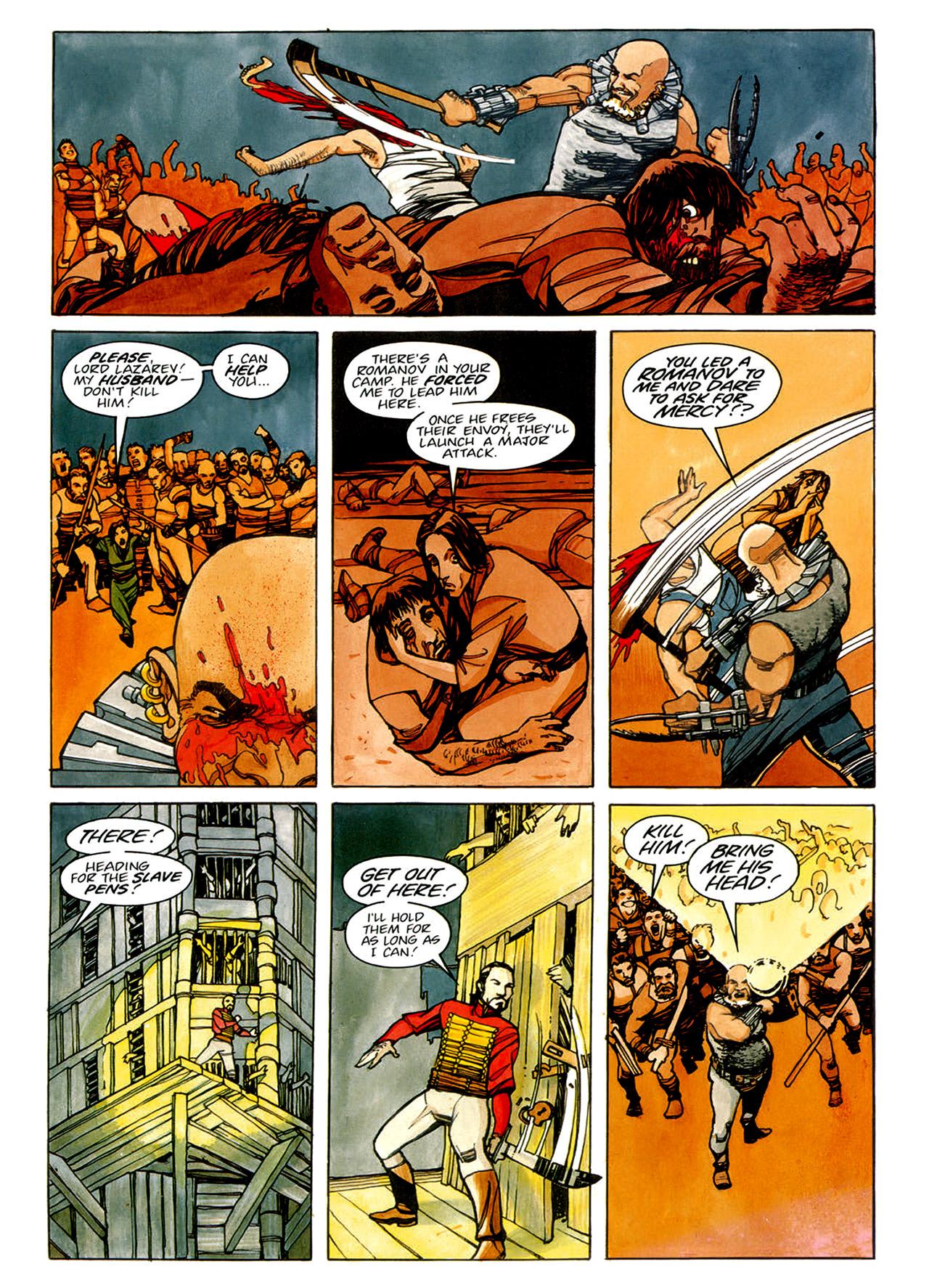 Read online Nikolai Dante comic -  Issue # TPB 1 - 75