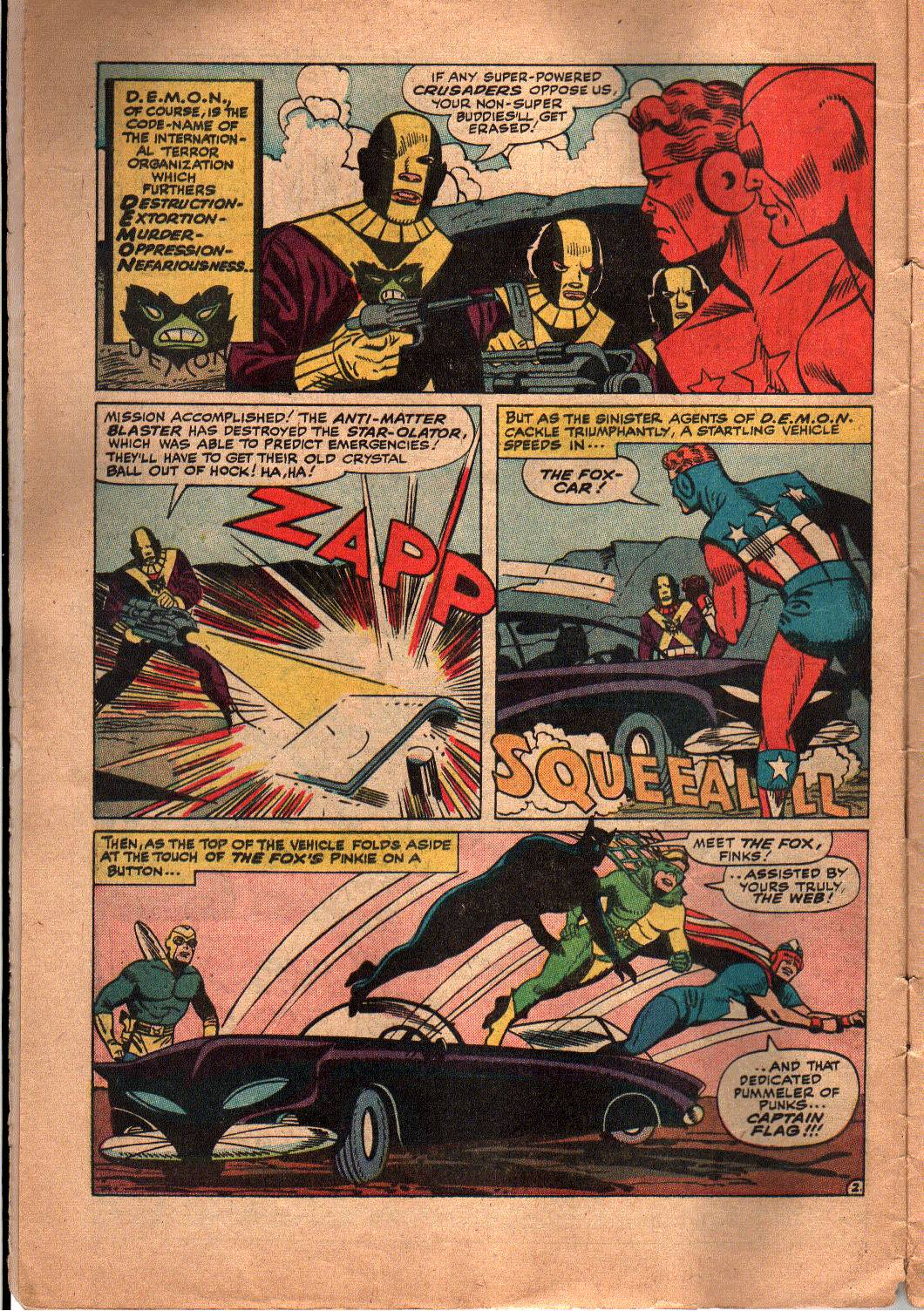 The Mighty Crusaders (1965) Issue #5 #5 - English 3