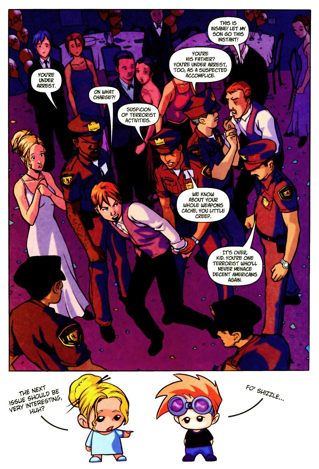 Read online SpyBoy: Final Exam comic -  Issue #2 - 24