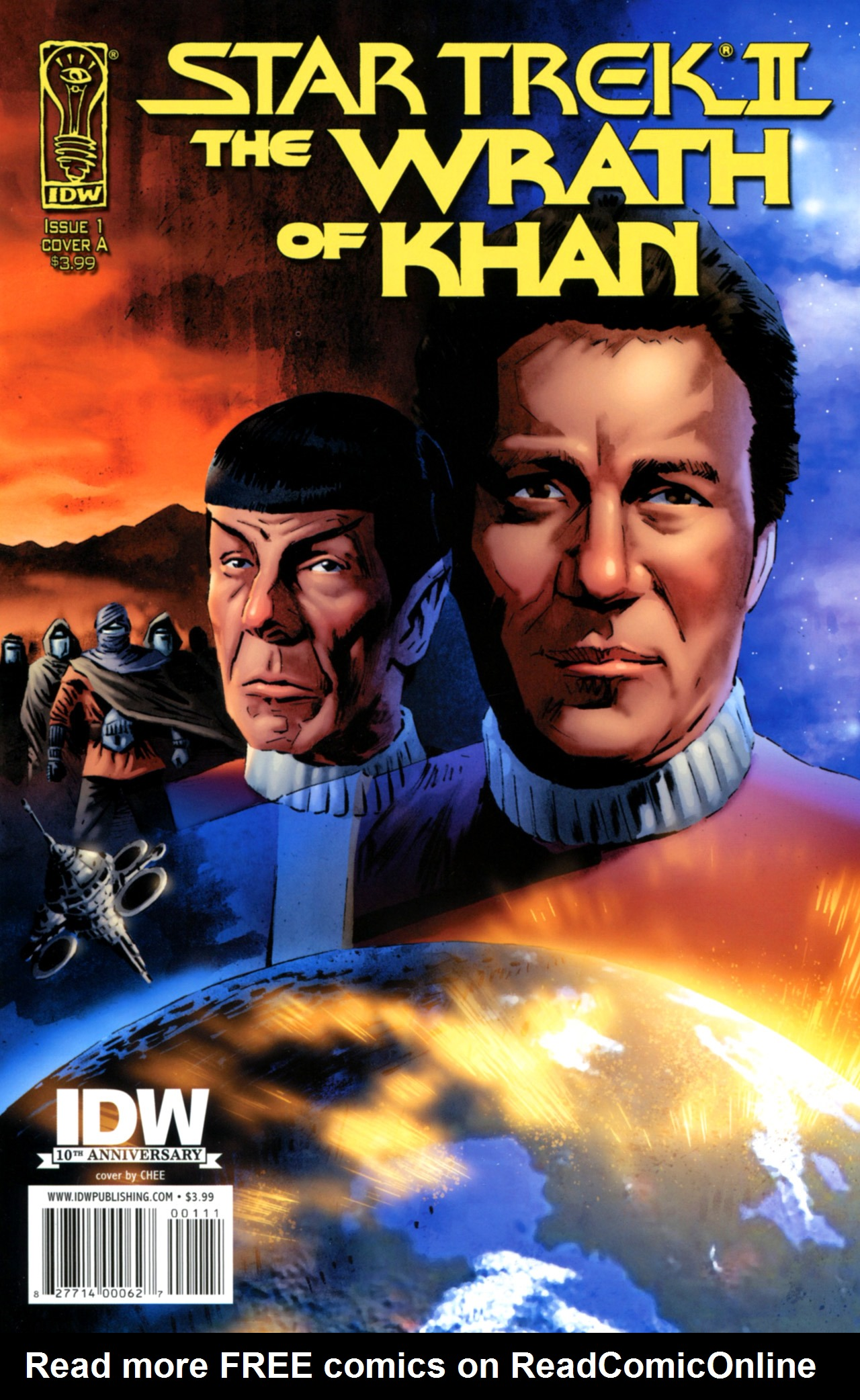 Star Trek: The Wrath Of Khan issue 1 - Page 1