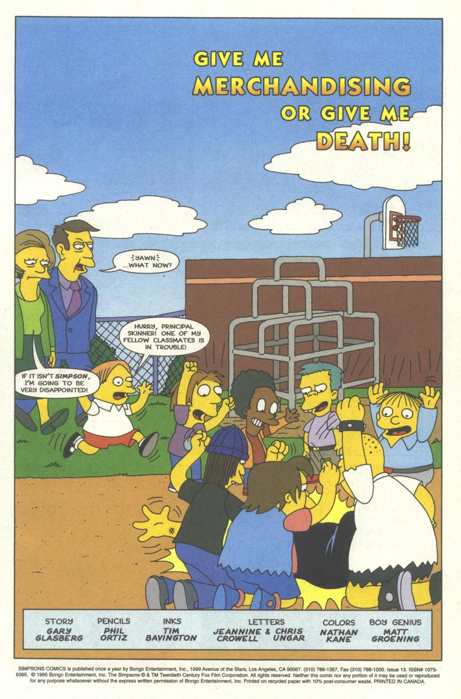 Read online Simpsons Comics comic -  Issue #13 - 2