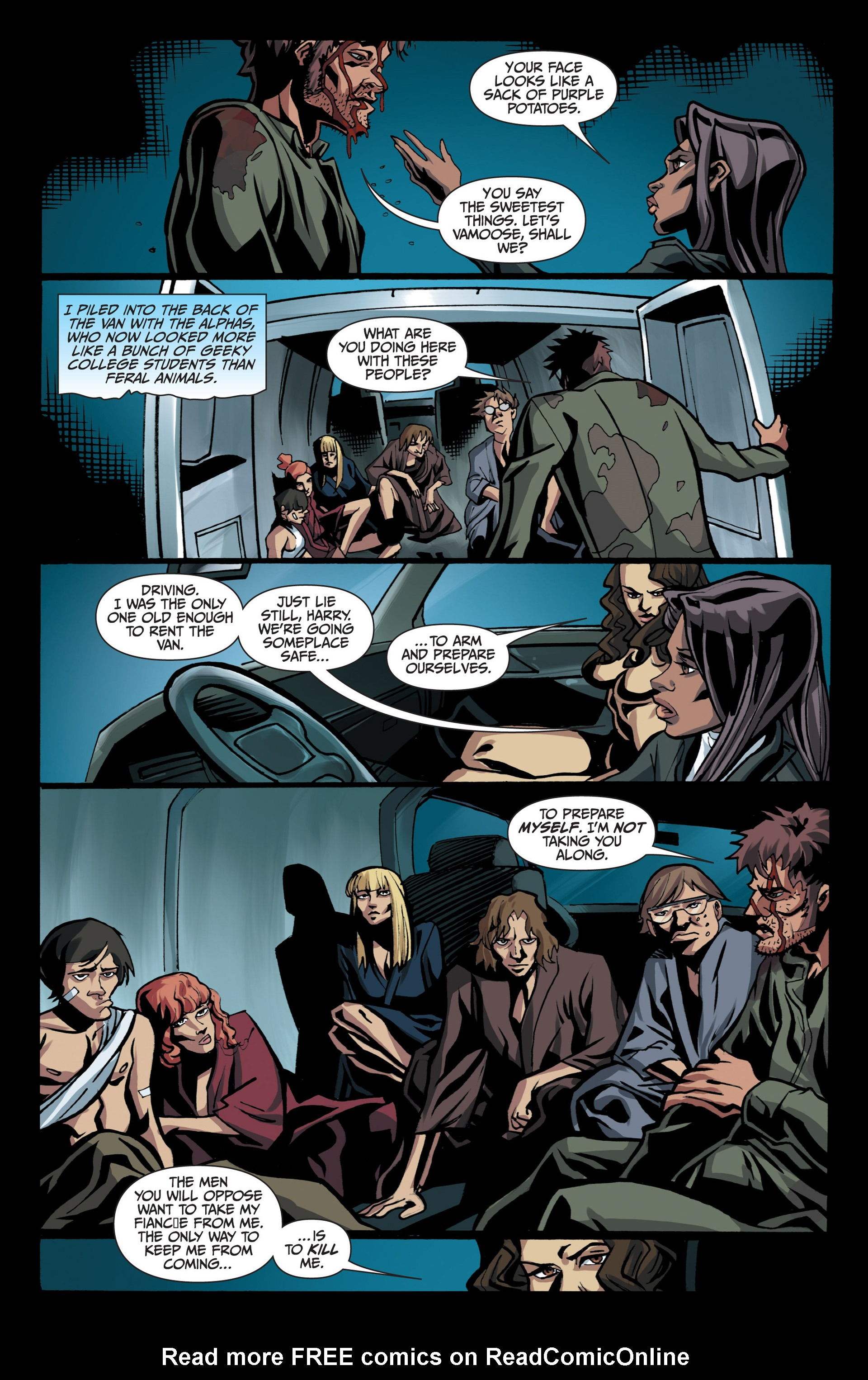 Read online Jim Butcher's The Dresden Files: Fool Moon comic -  Issue #7 - 14