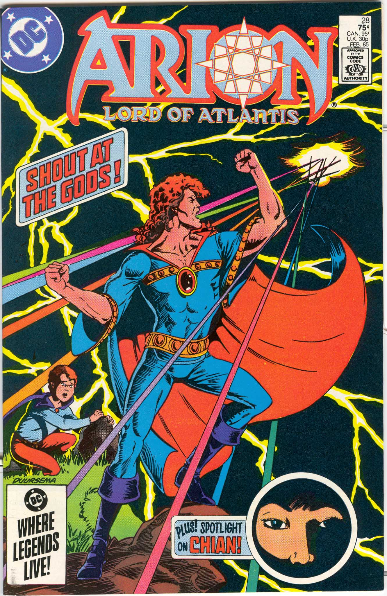 Read online Arion, Lord of Atlantis comic -  Issue #28 - 1