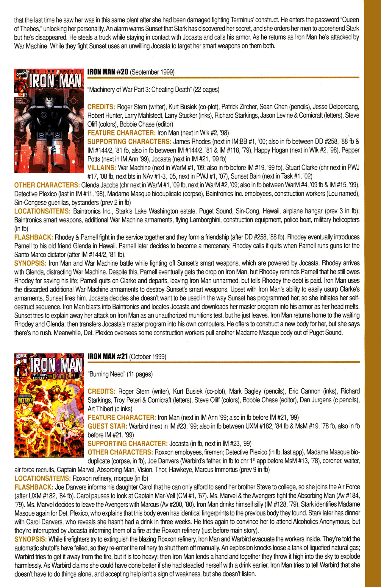 Read online Official Index to the Marvel Universe comic -  Issue #10 - 37