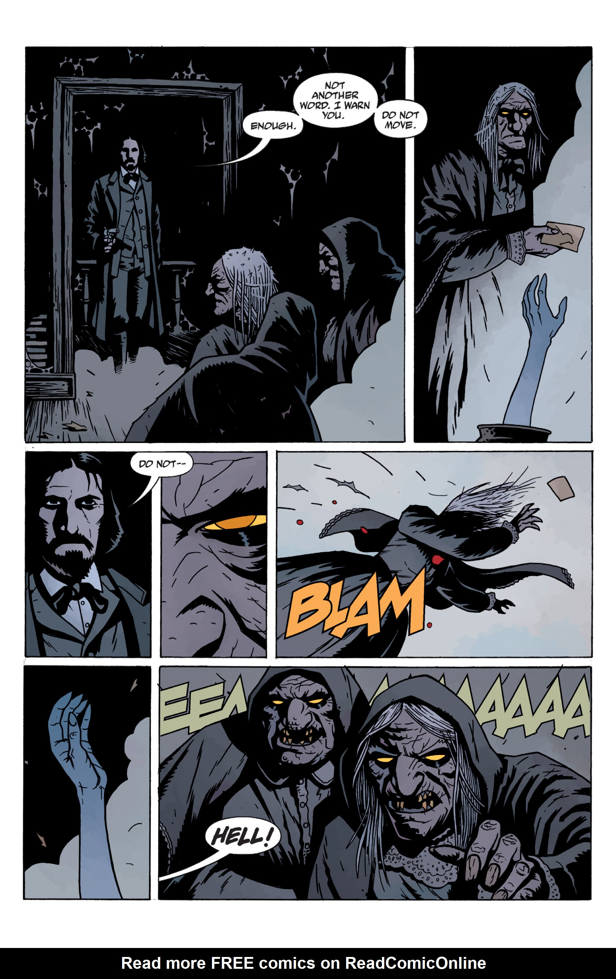 Read online Sir Edward Grey, Witchfinder: In the Service of Angels comic -  Issue # TPB - 131