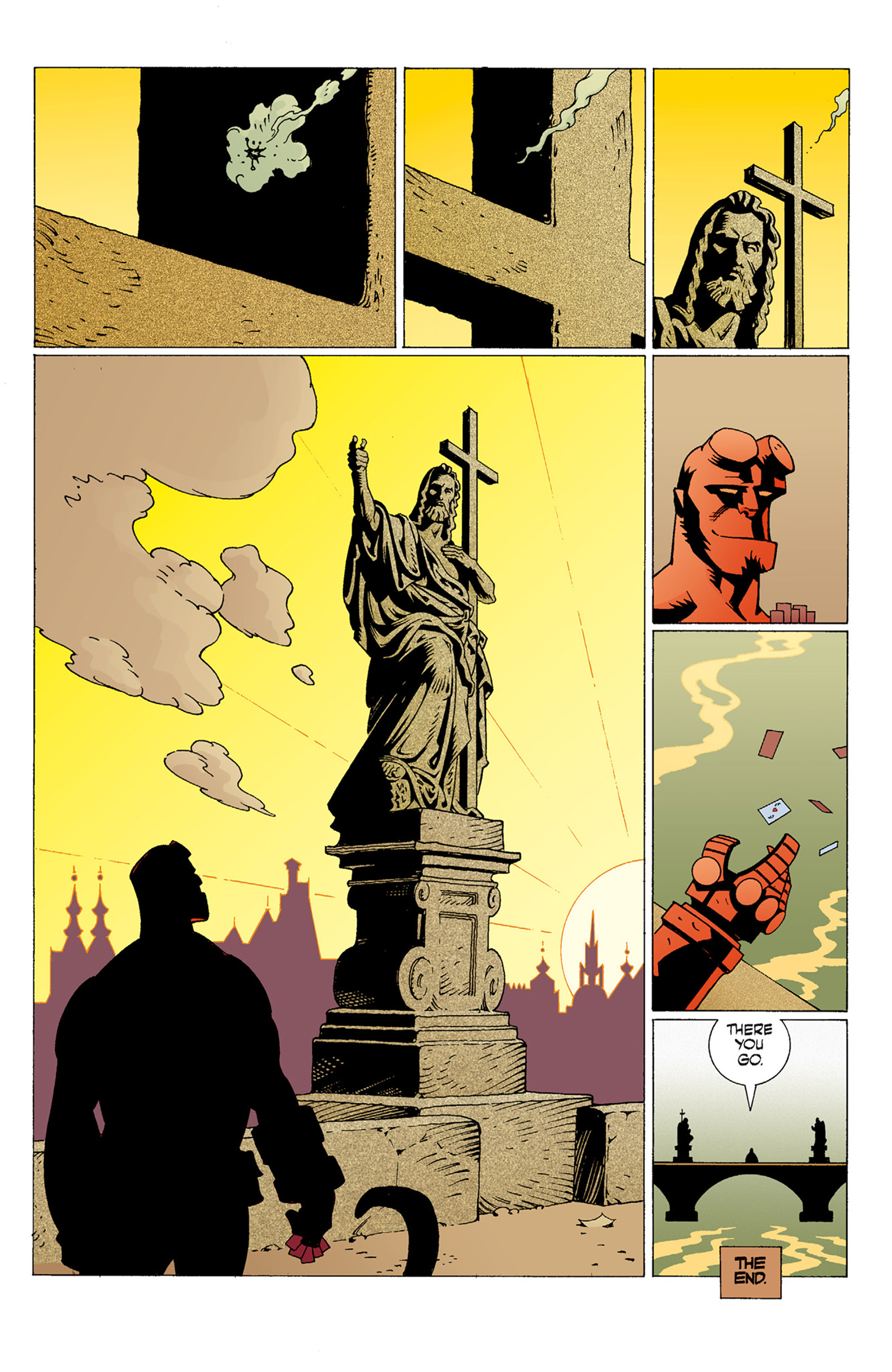 Read online Hellboy: The Troll Witch and Others comic -  Issue # TPB - 55