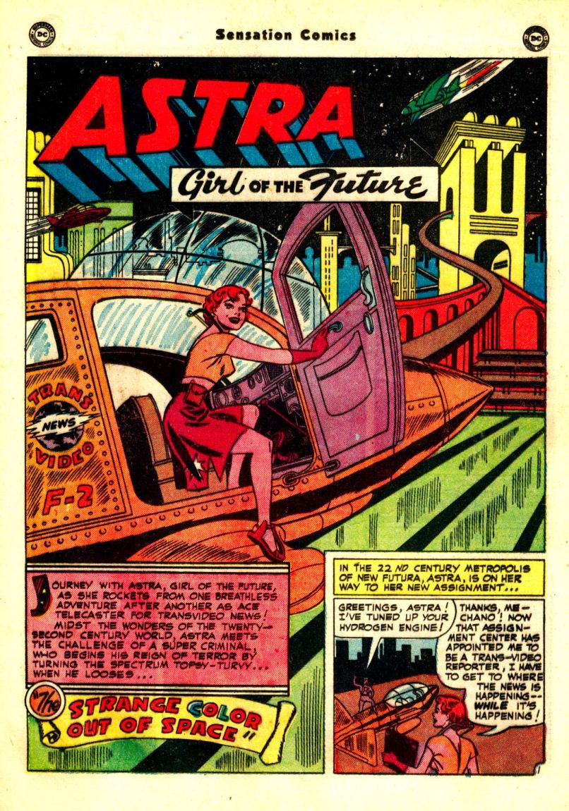 Read online Sensation (Mystery) Comics comic -  Issue #99 - 29