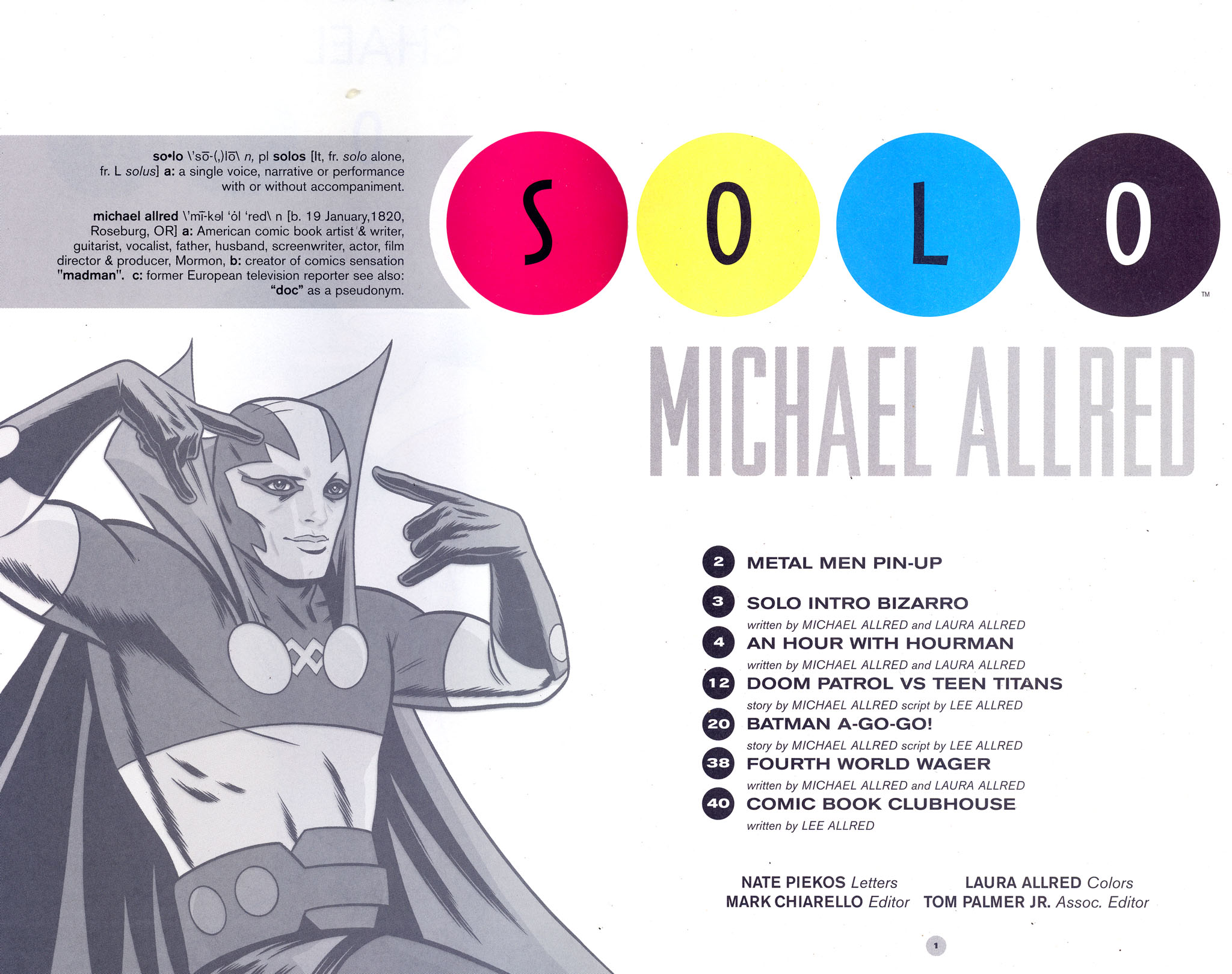 Read online Solo (2004) comic -  Issue #7 - 2